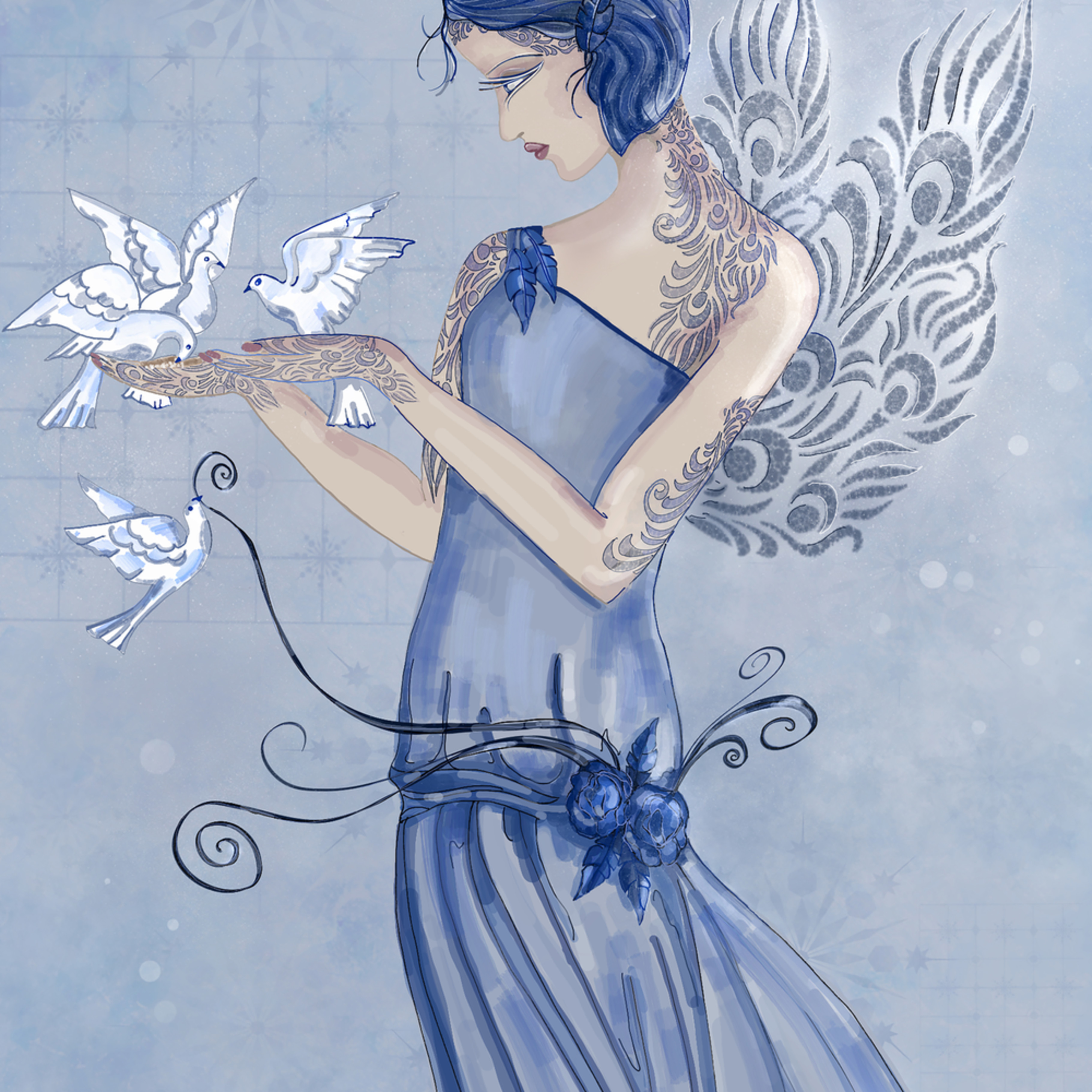 Winter fairy immnon