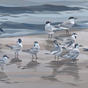Gray day birds s9ipsv