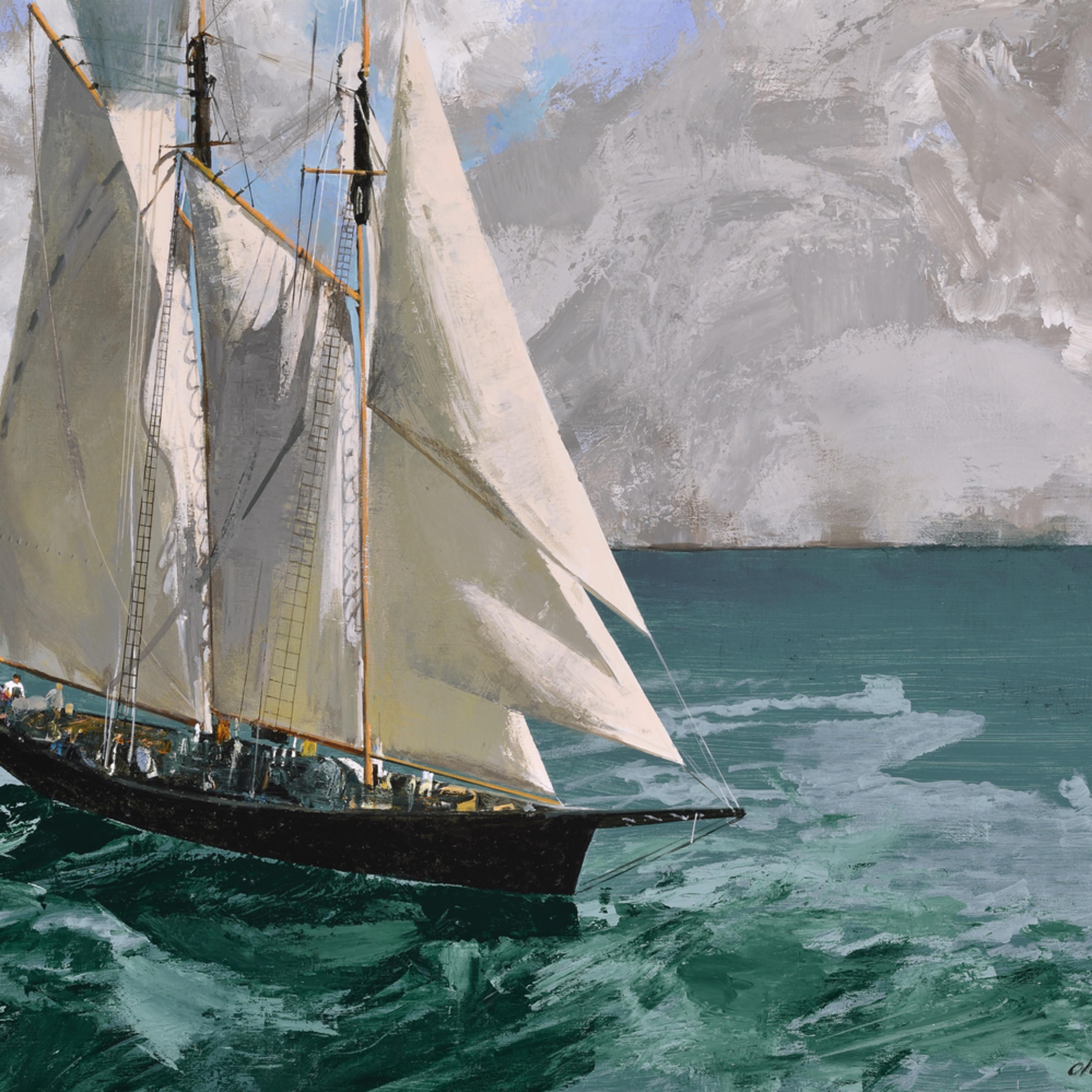 Fotor.sailboat on sea io1qyi