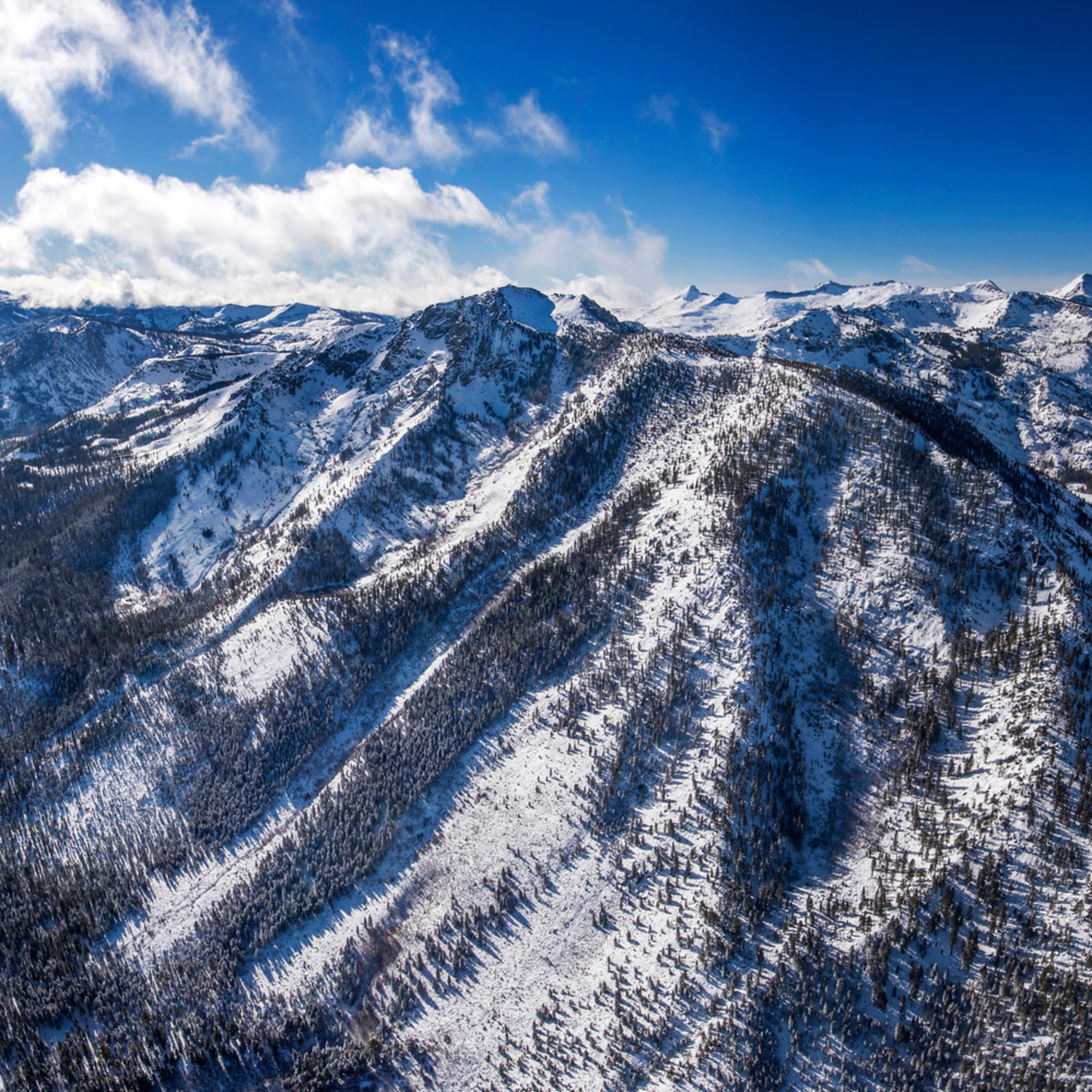 Tallac winter pano aerial zf7wsl