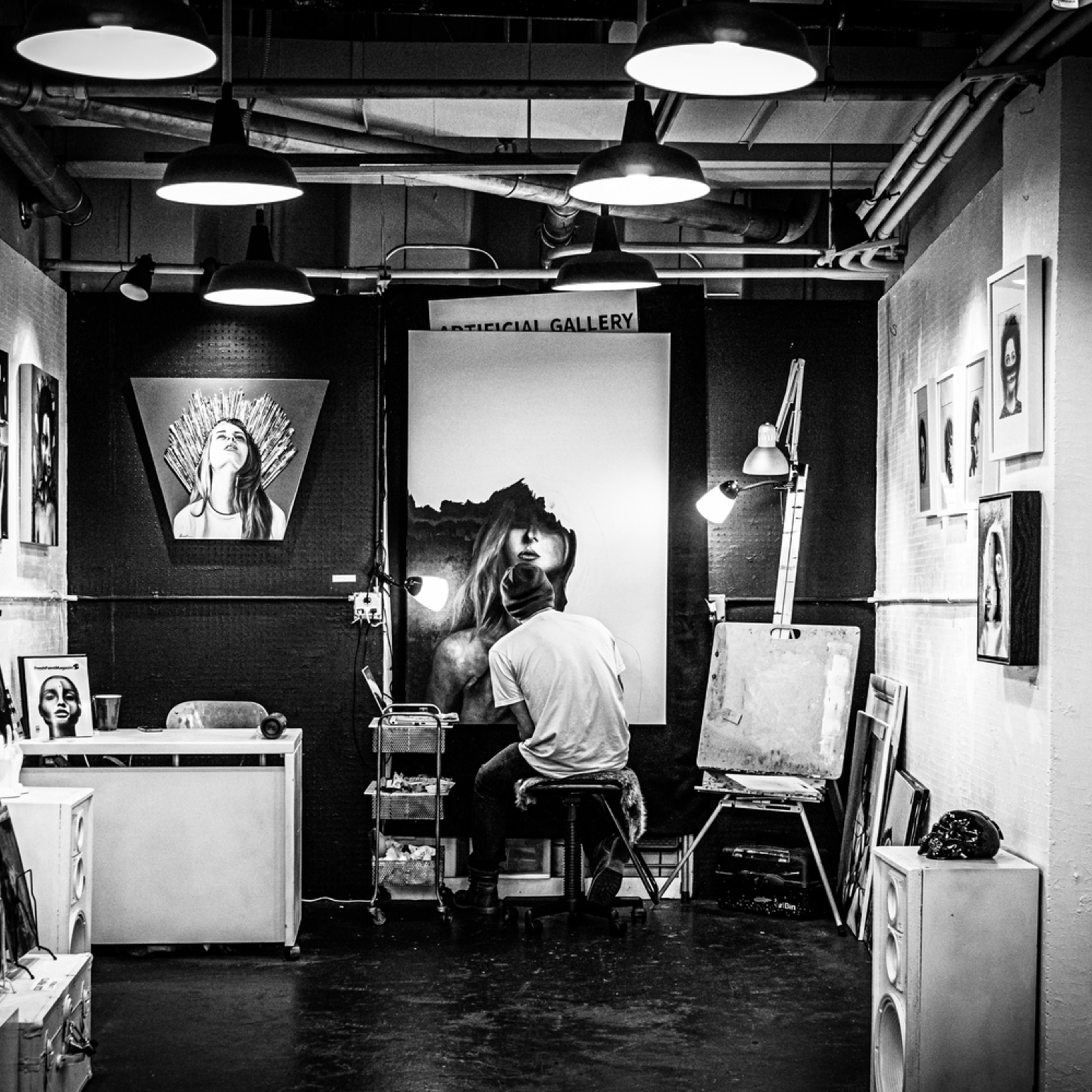 Artist studio i2m7zu