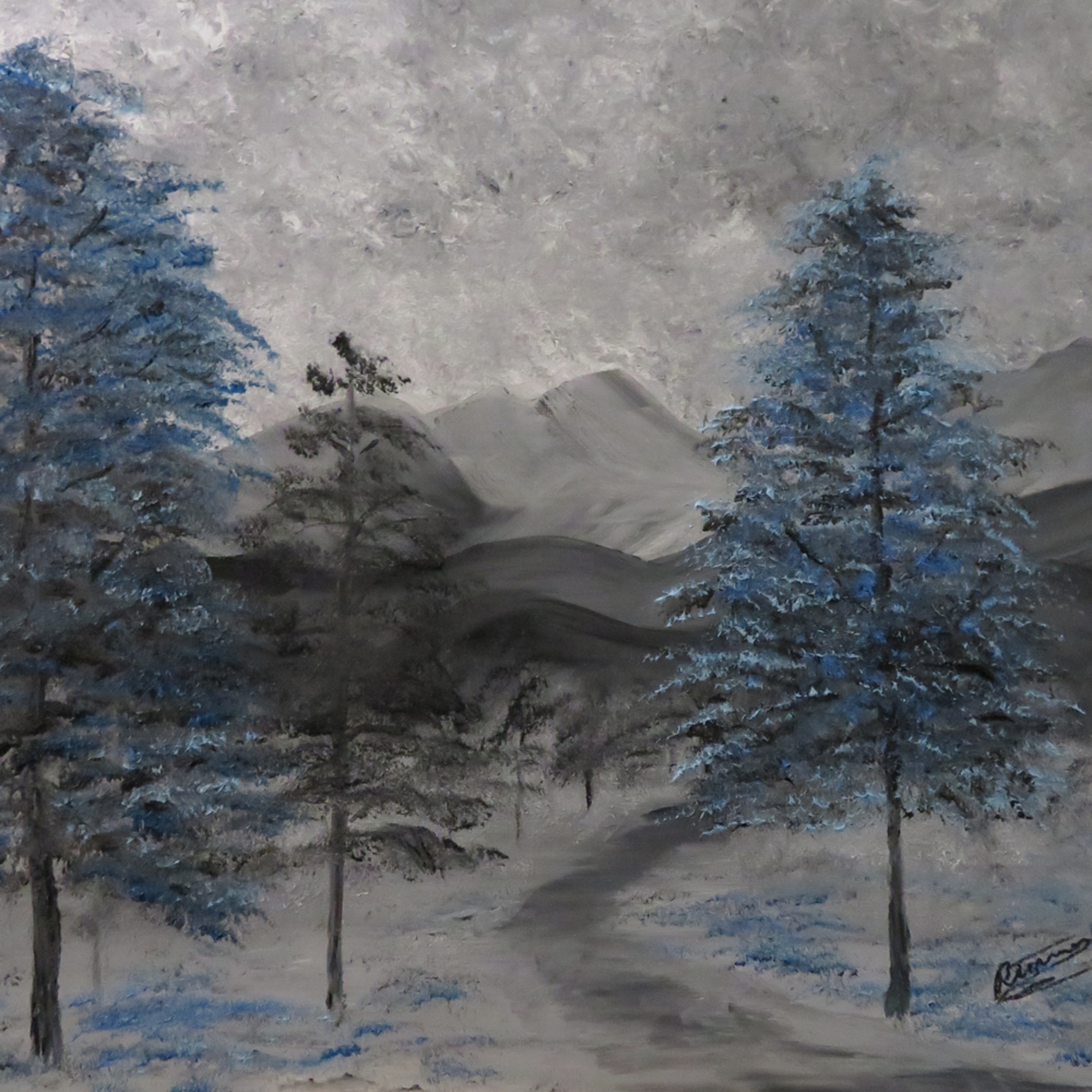 Blue gray scape inpixio wmqocb