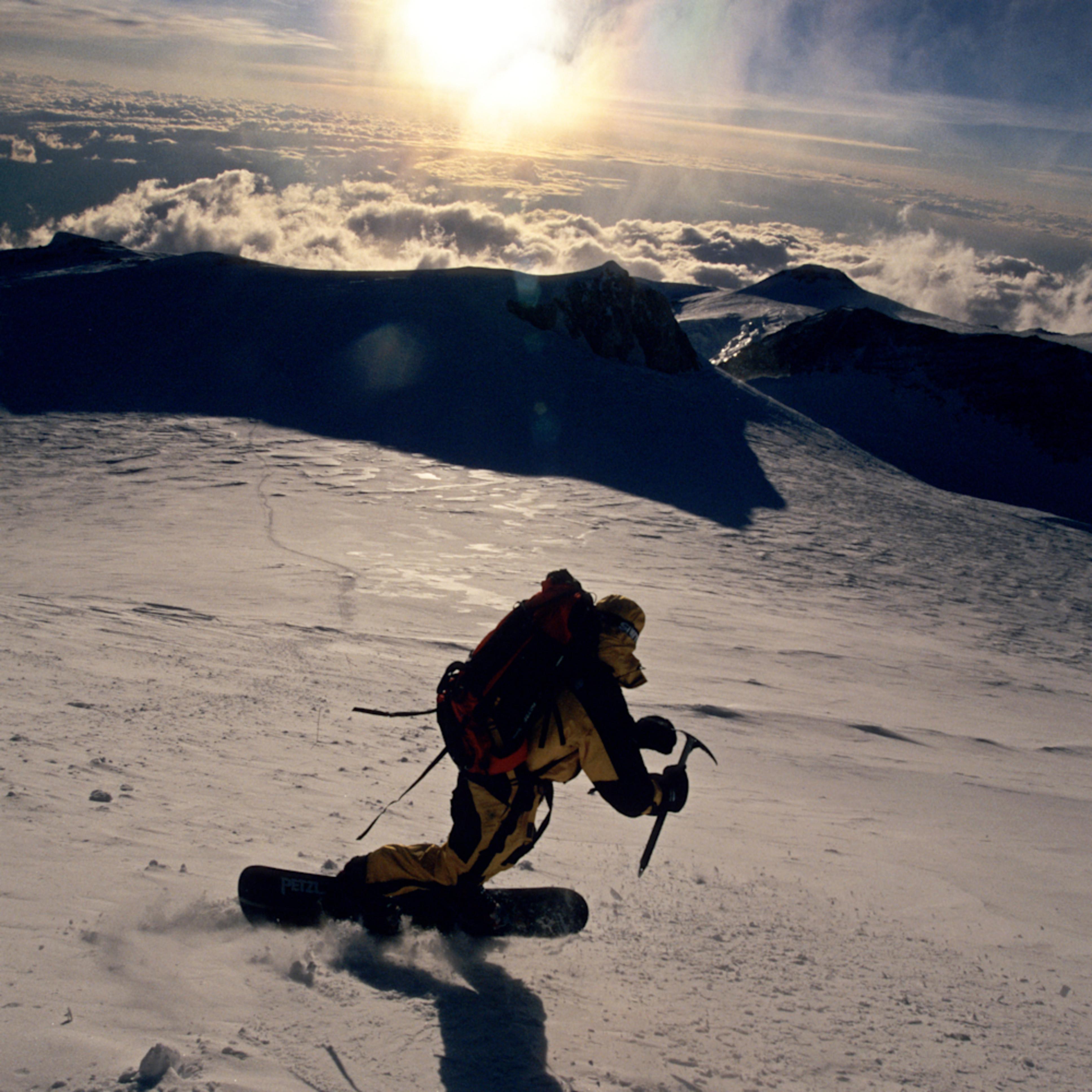 Denali summit onslope stephen koch r1abkg