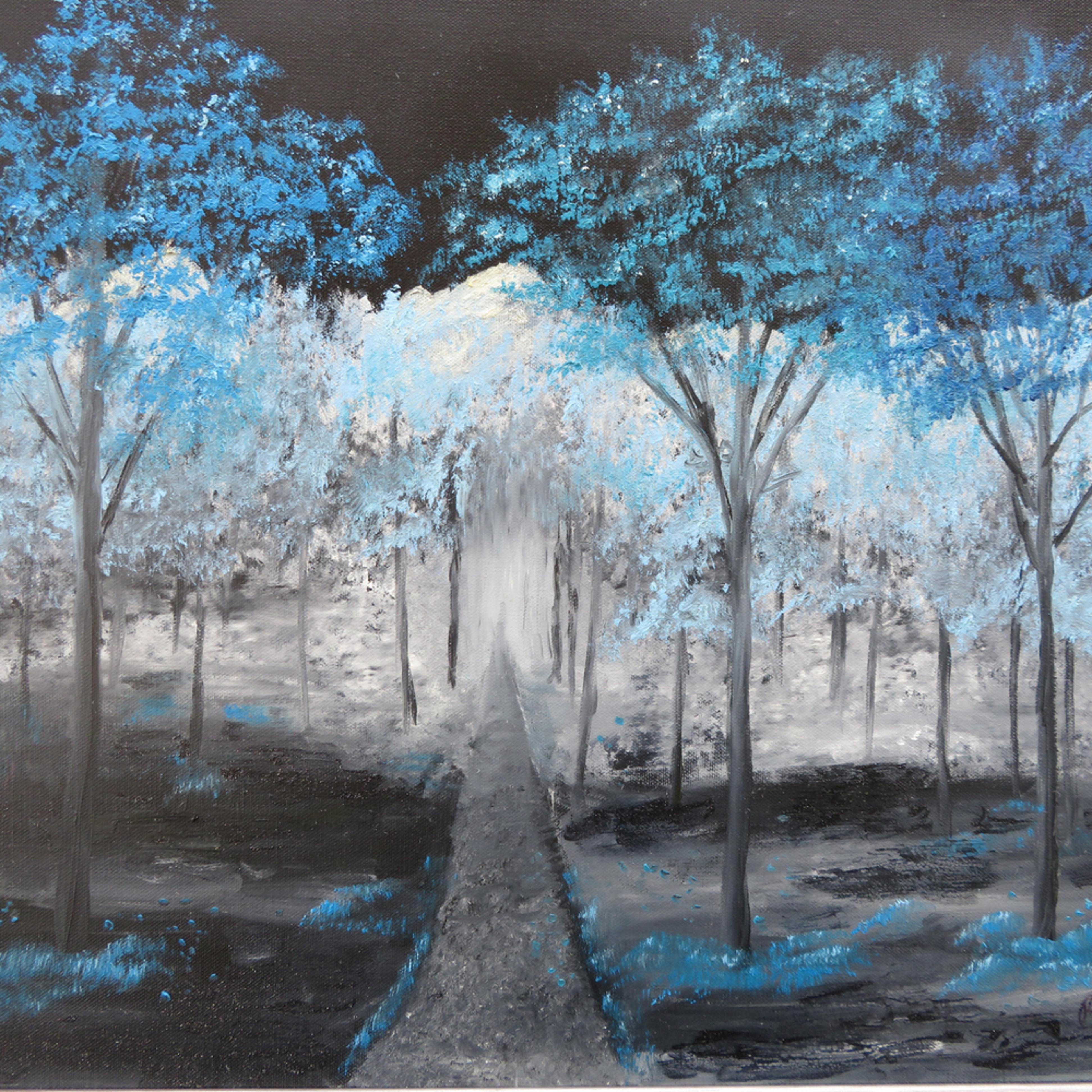 Blue forest walk1 g2bwnk