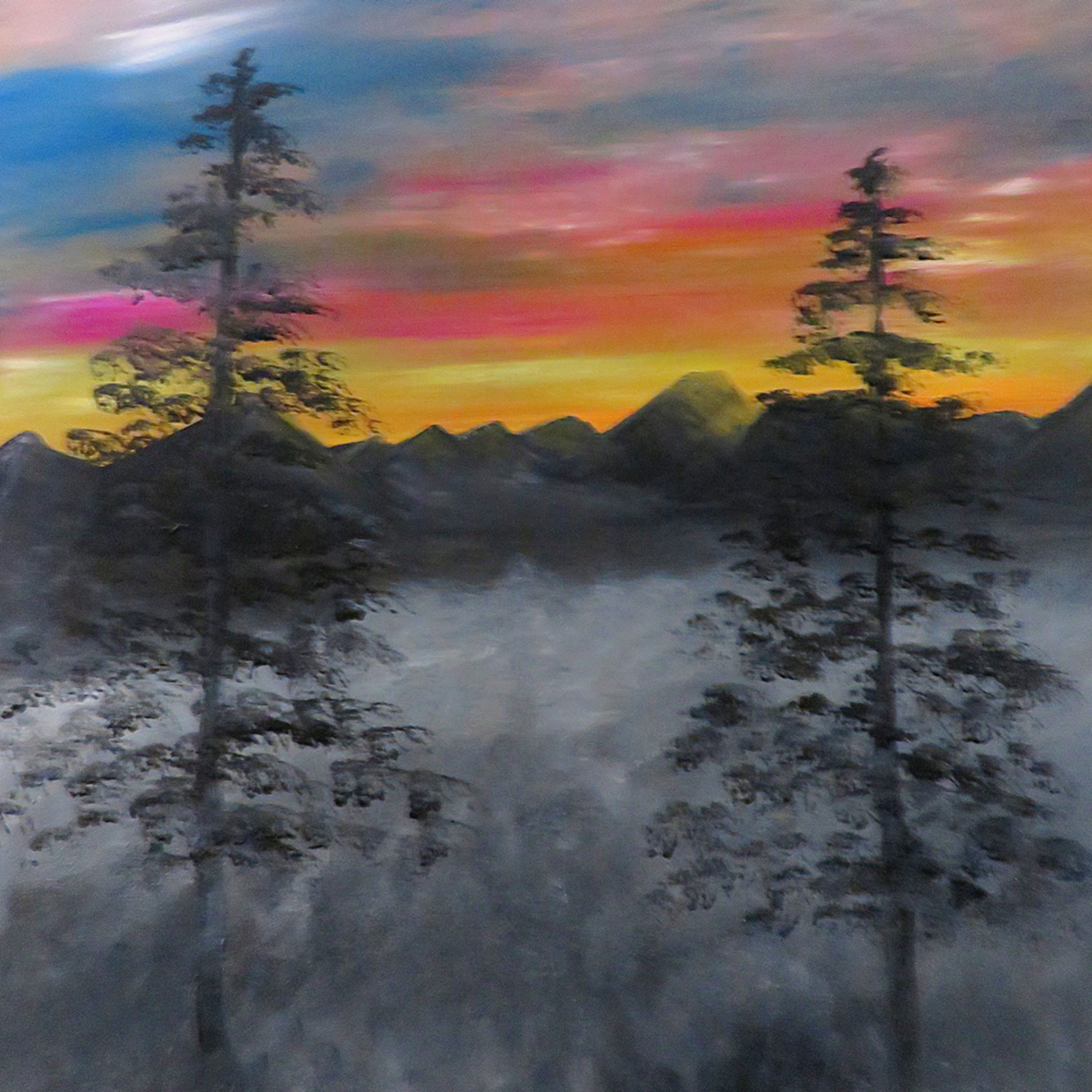 Foggy sunrise inpixio mbqevx
