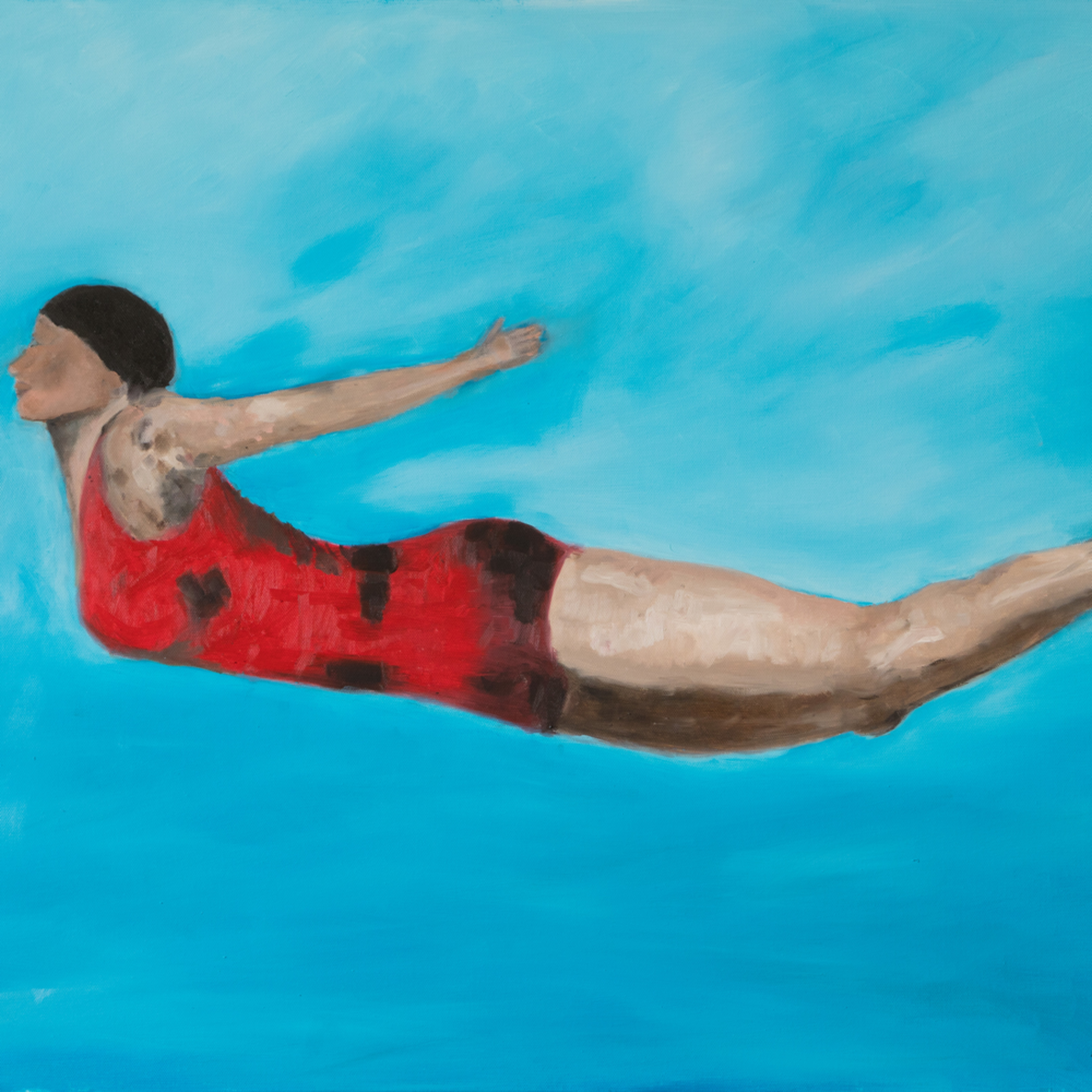 Diver  ane howard paintings 01 aytlaw