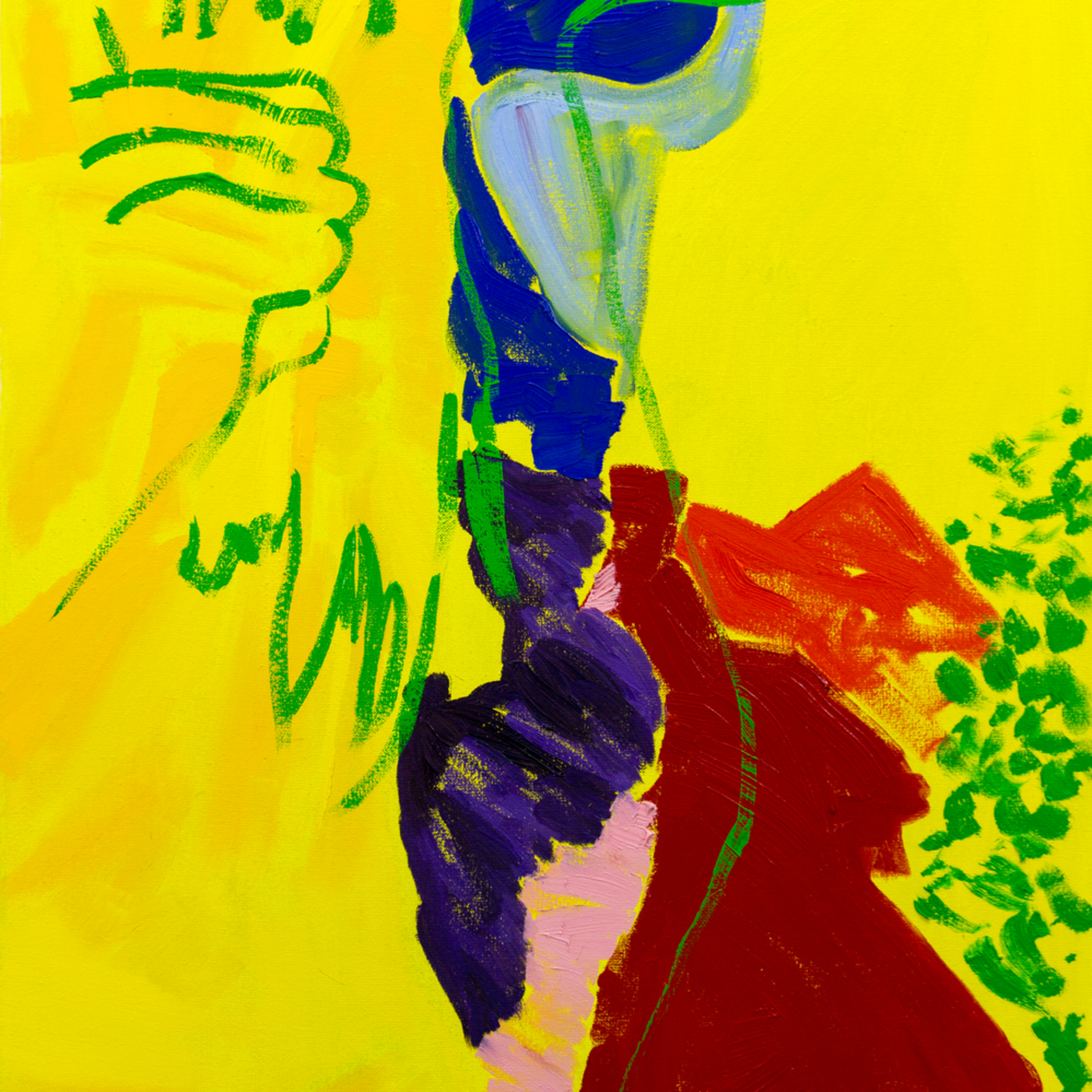 Stuart bush 2020 the edge of the puzzle oil on canvas 51 x 71.2 x 5 cm d5ffte