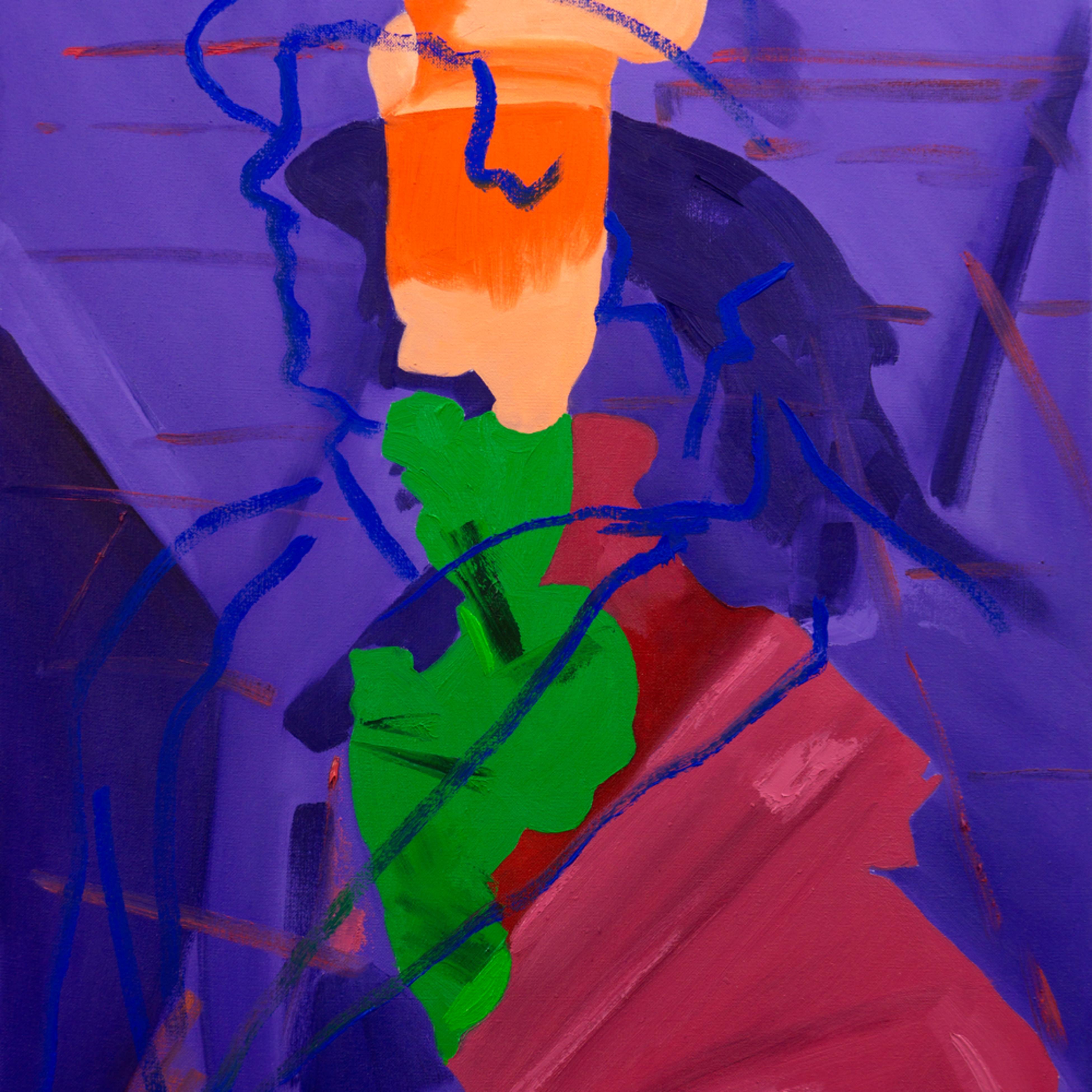 Stuart bush 2020 play his base desires oil on canvas 50.2 x 70.3 x 3.3 cm 2020 goxsrx