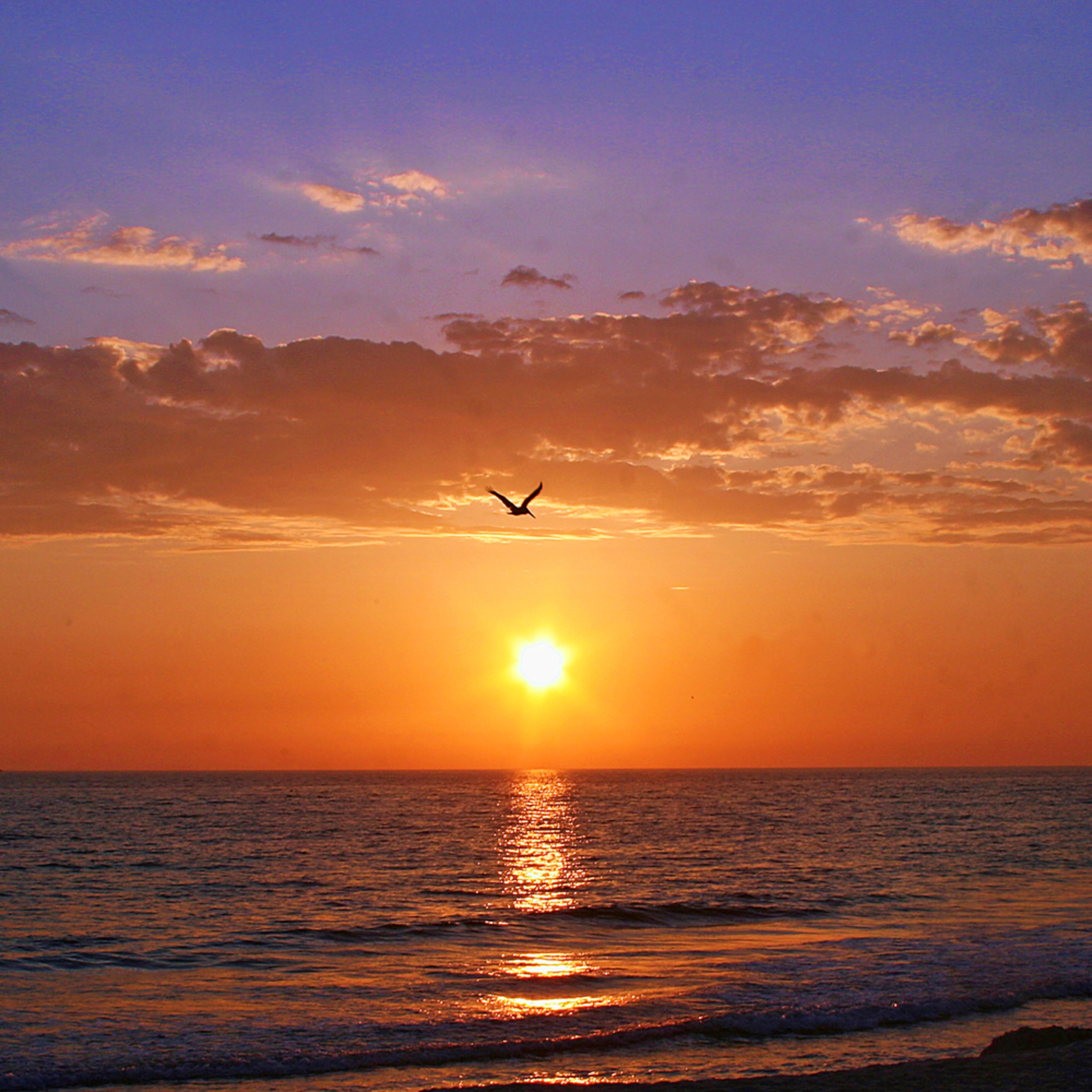 Beach sunset tpotej