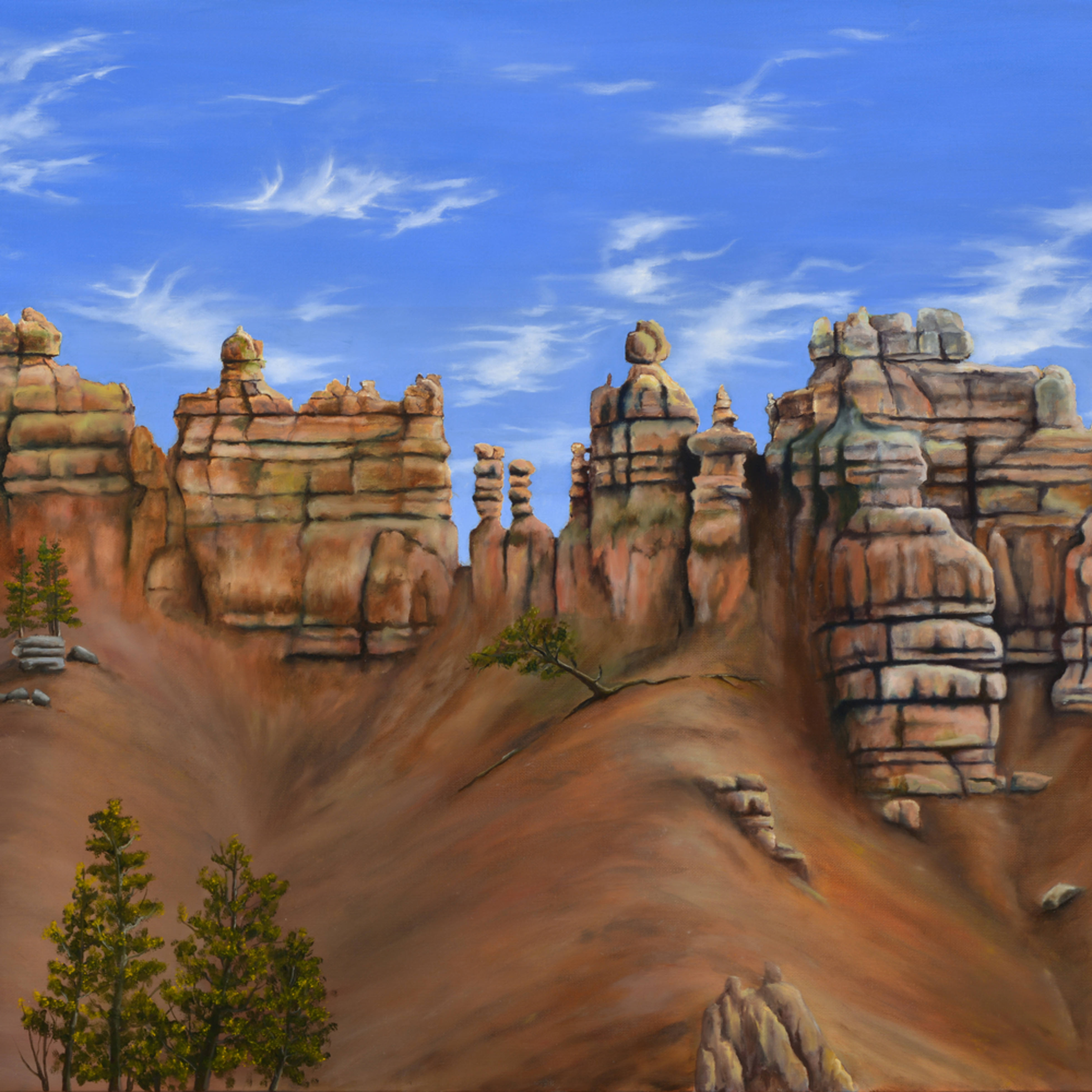 31  bryce canyon oil on canvas by monica marquez gatica mmg art studio bvmpgm