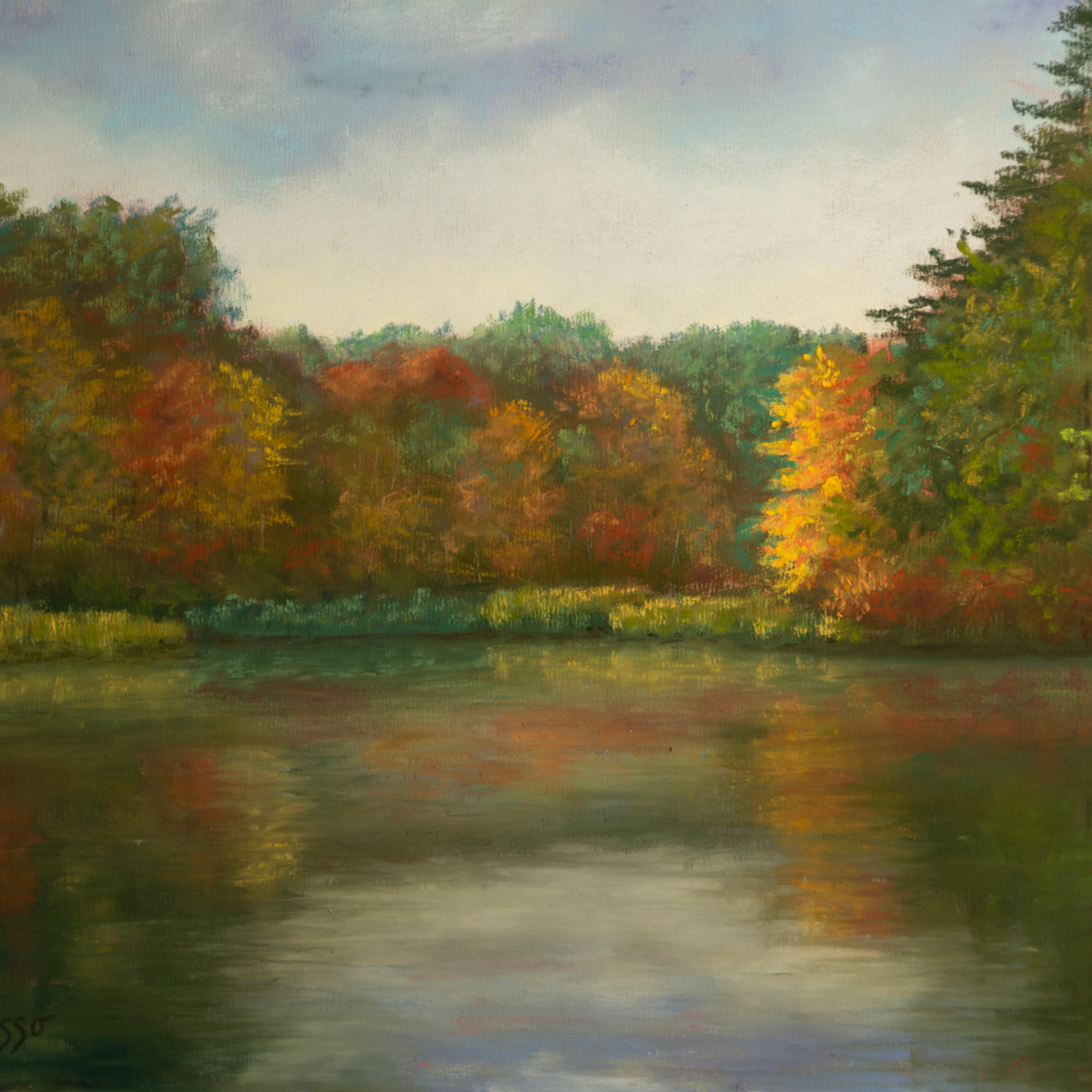 Portrait of fall blksne