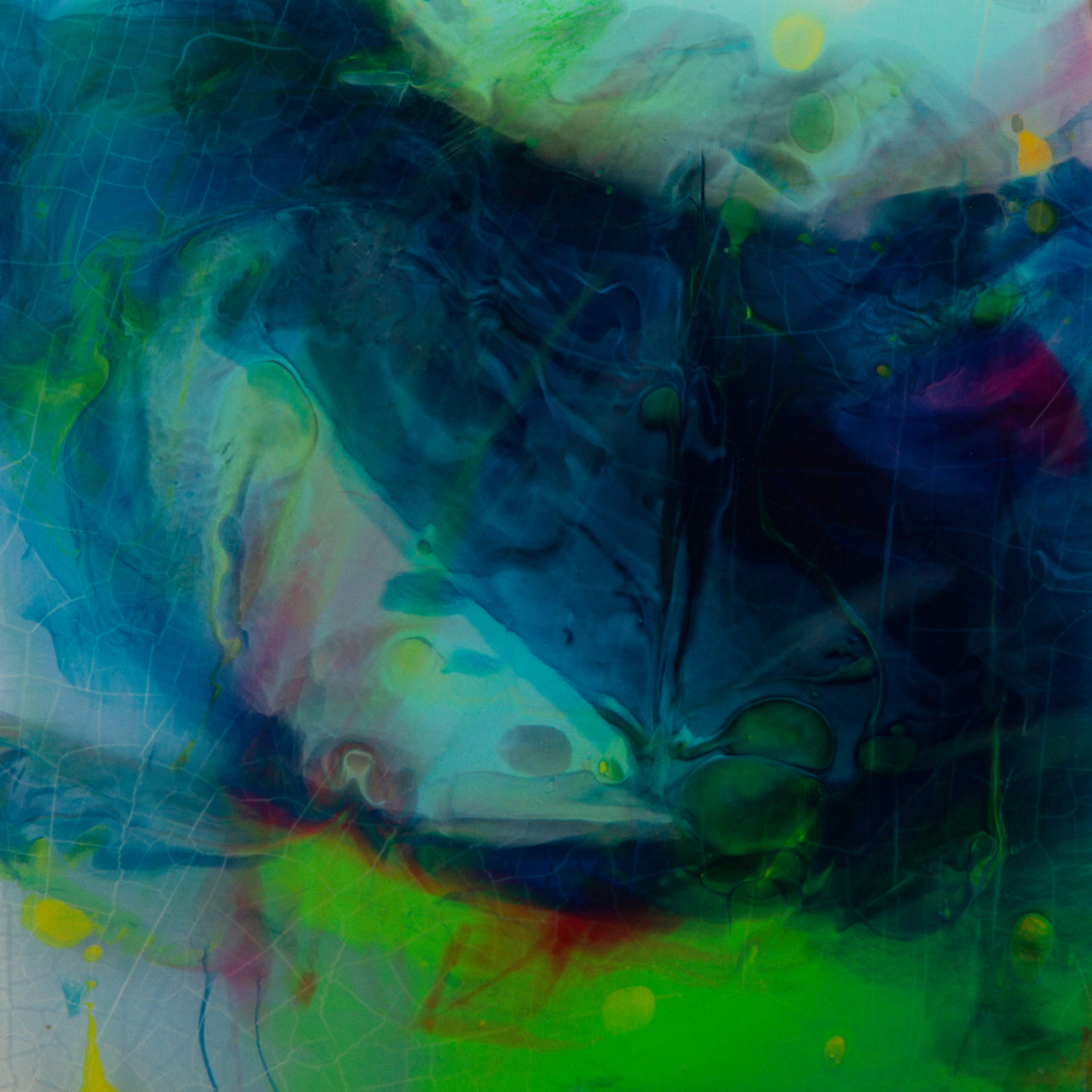 Blue abstract ii ok2xyz