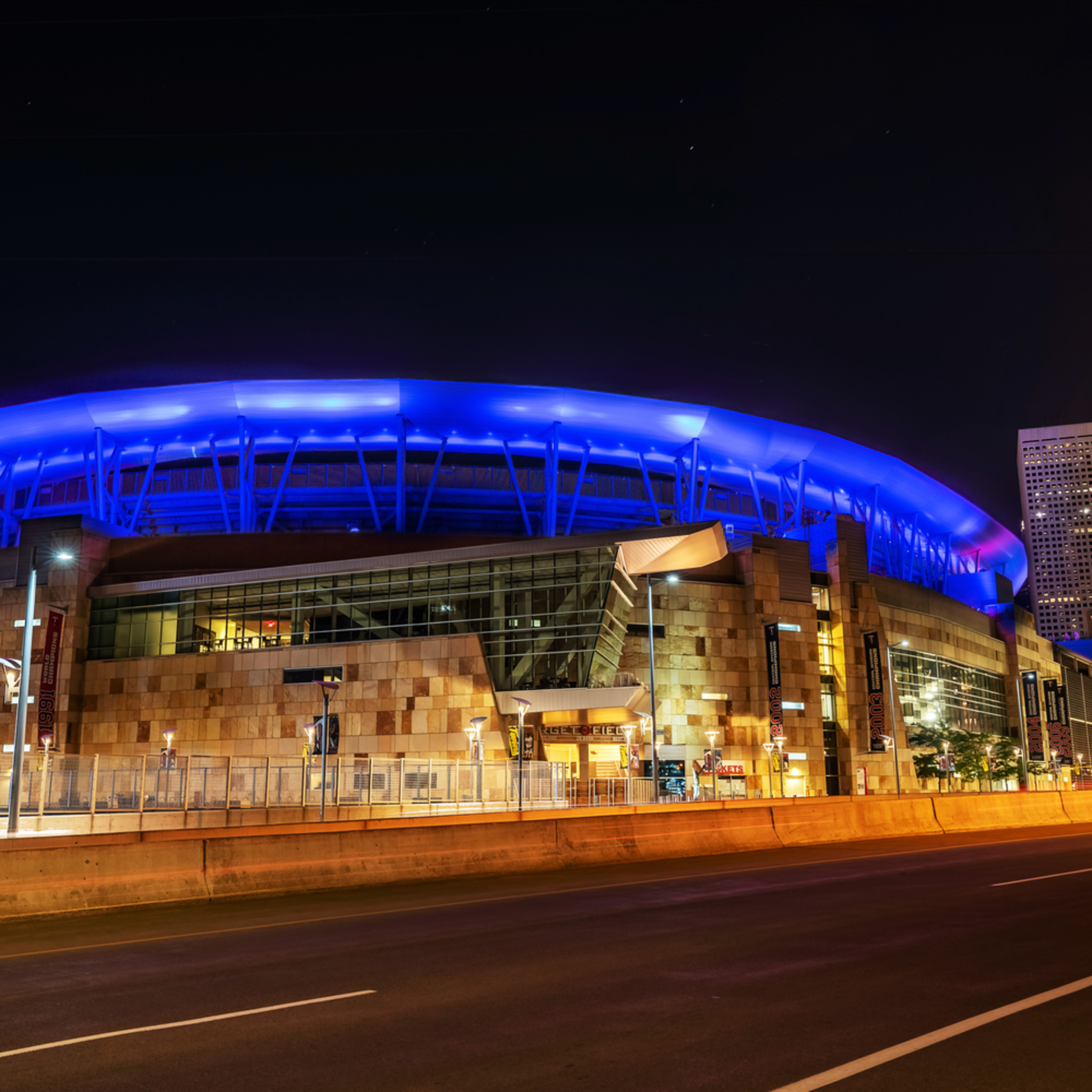 Target field minneapolis blue and pink pxmafr