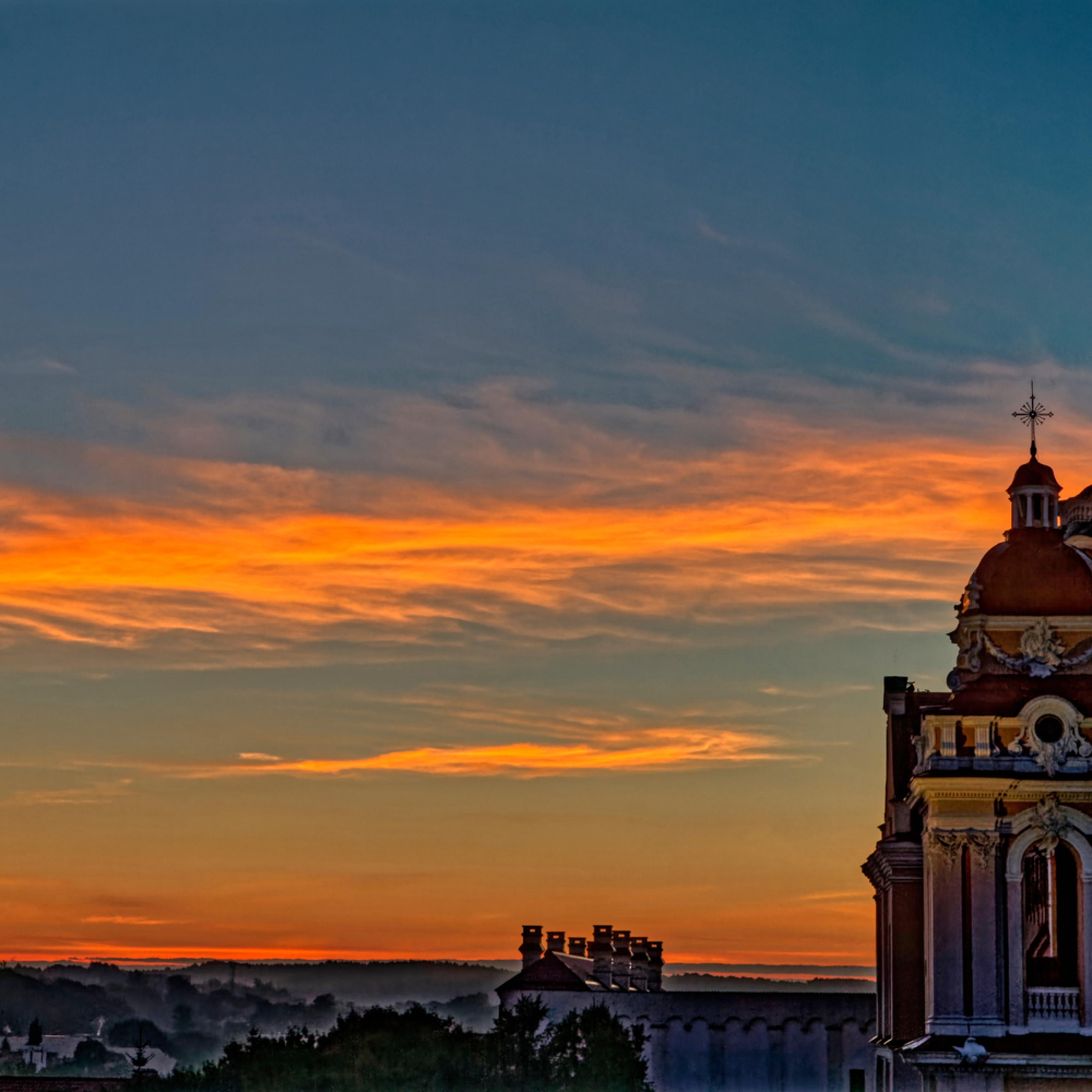 Vilnius sunrise ljoqgx