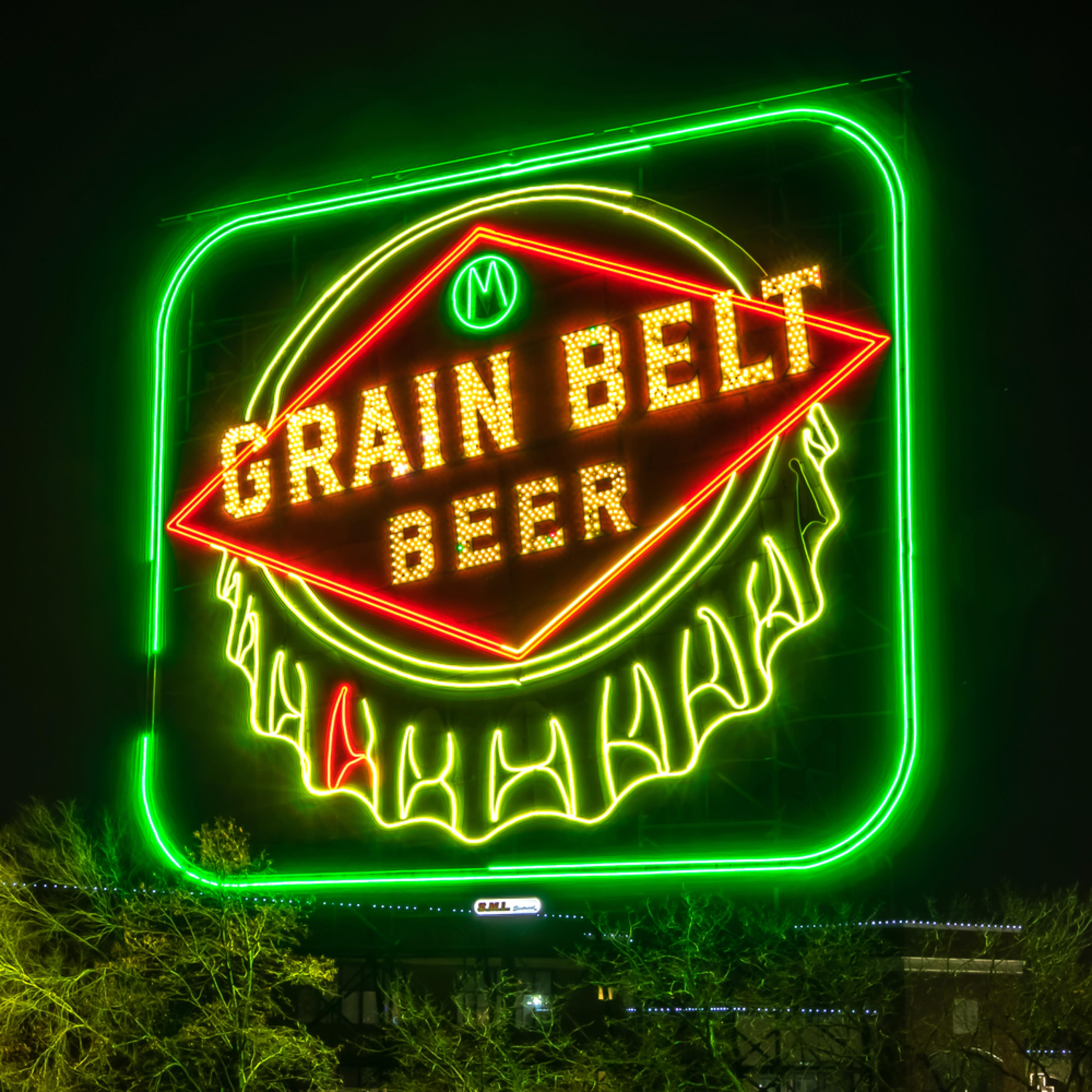 Grain belt sign hdjtoy
