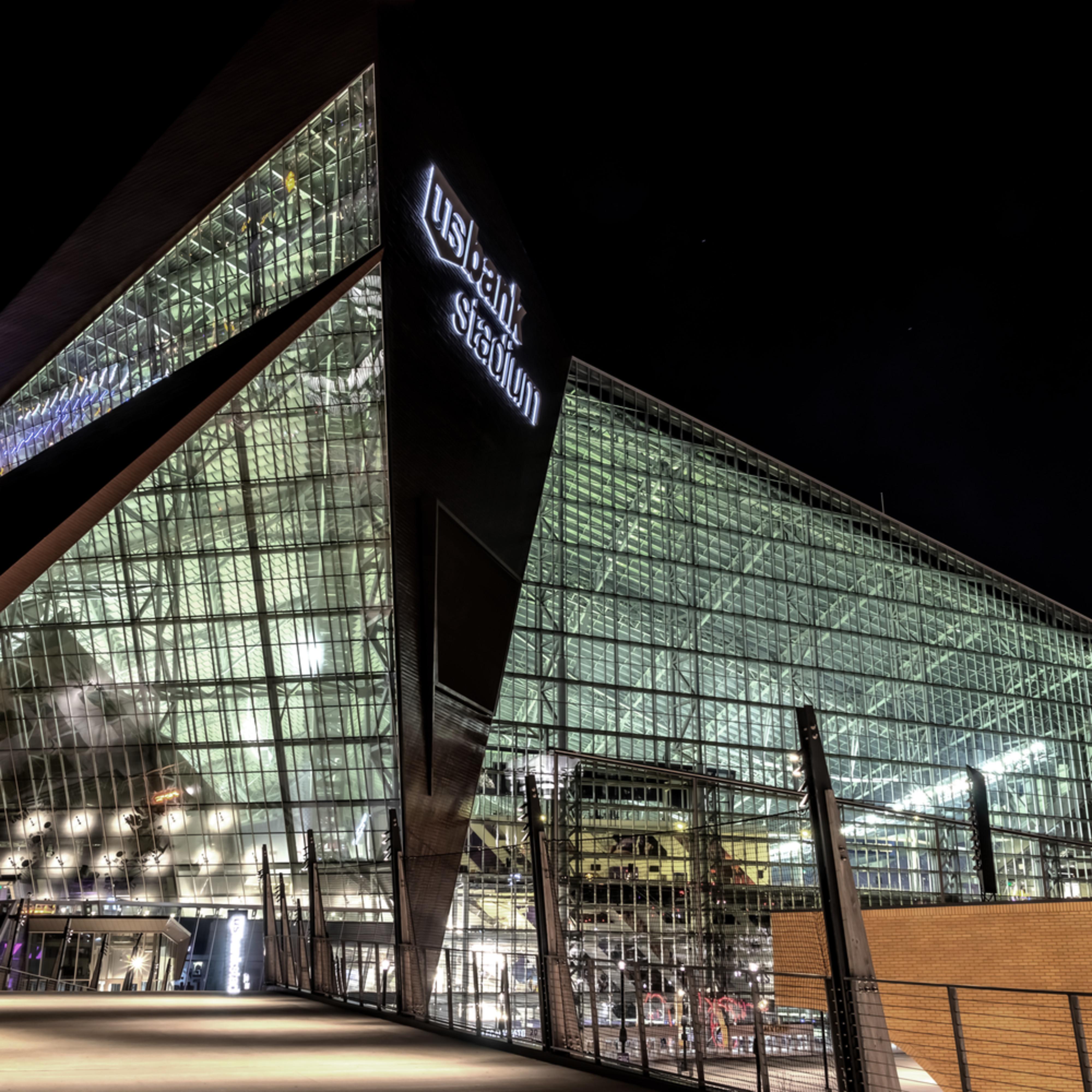 Us bank stadium closeup l3k1lj