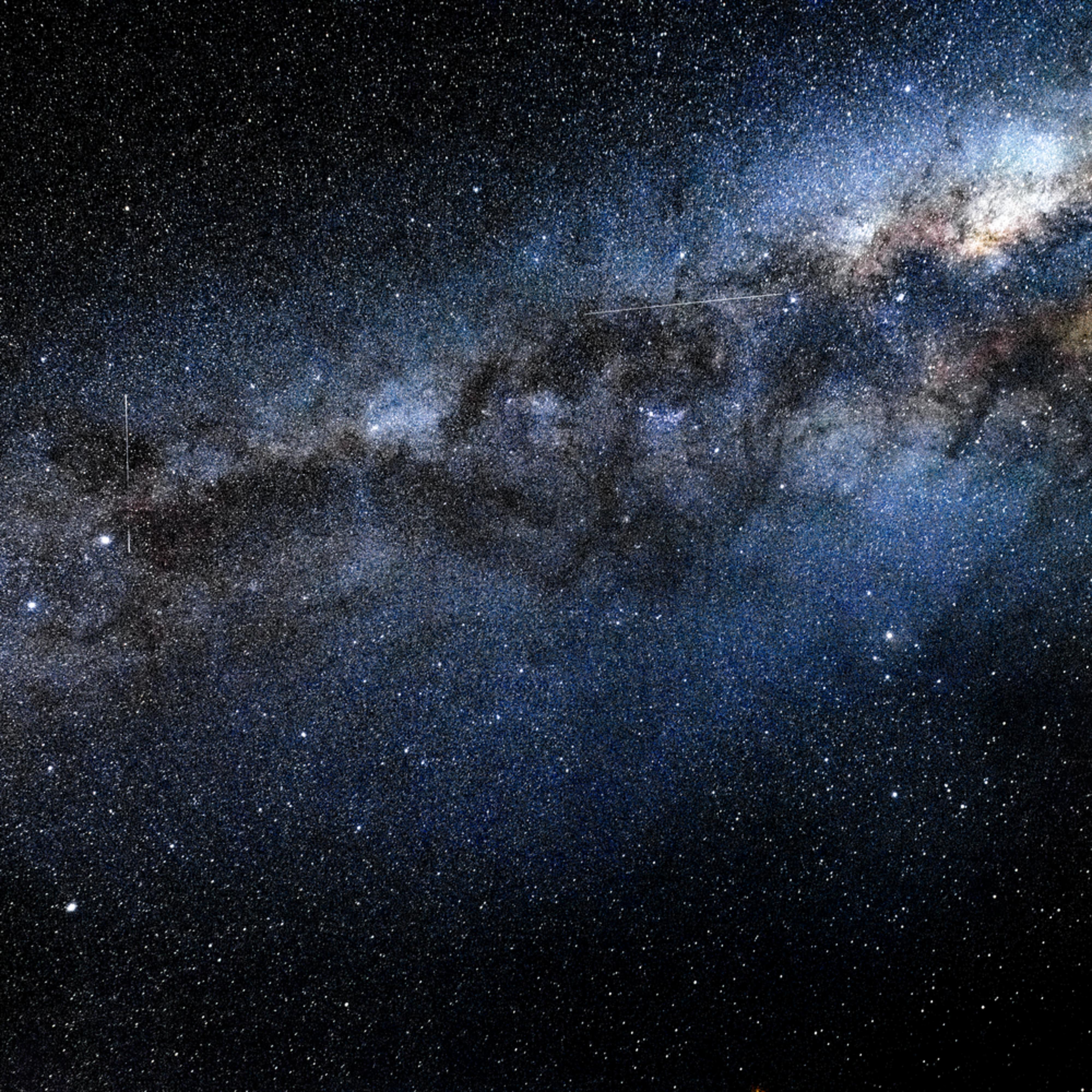 Milky way 3 meteors te anau nz sknhet