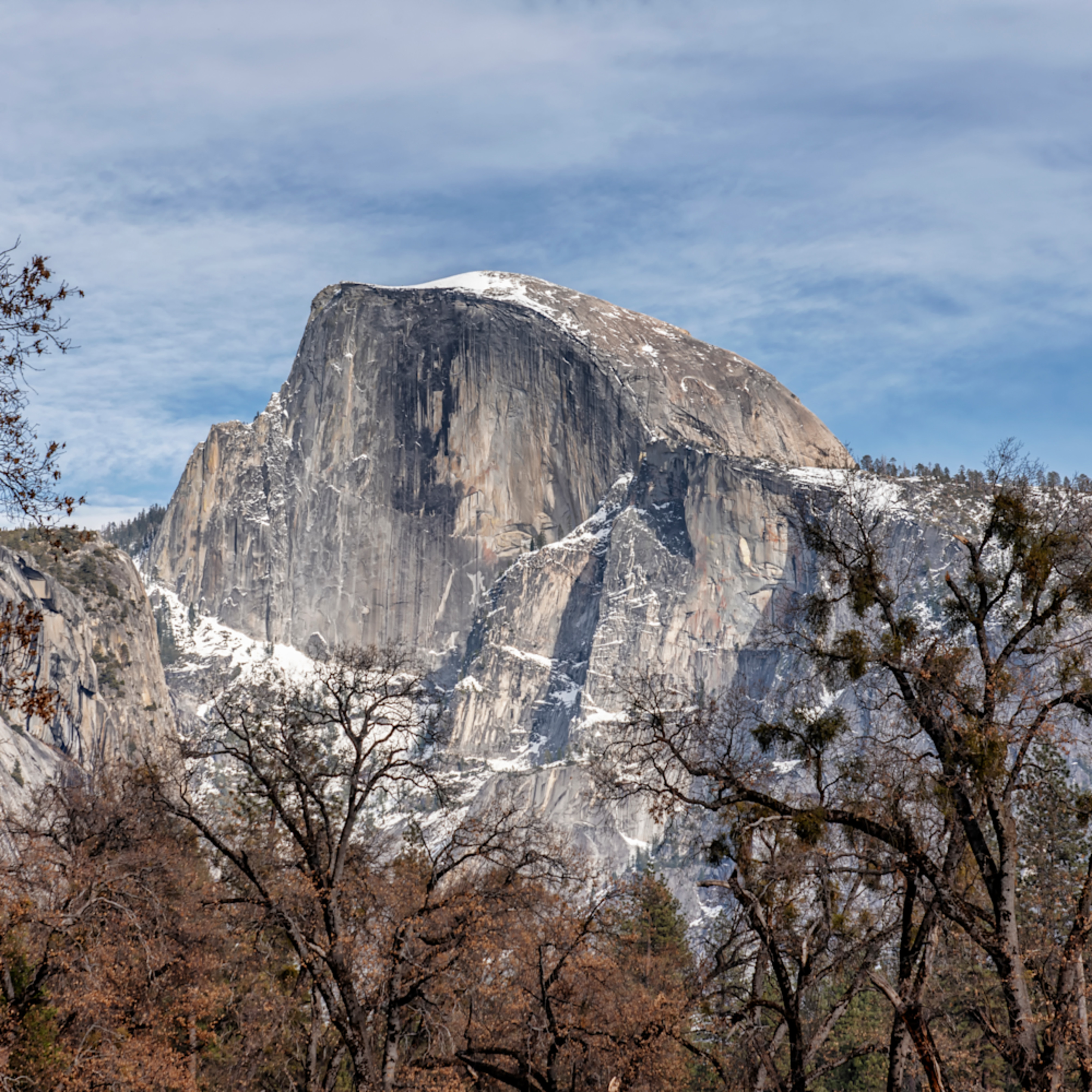 Yosemite half dome close up j2mzfa