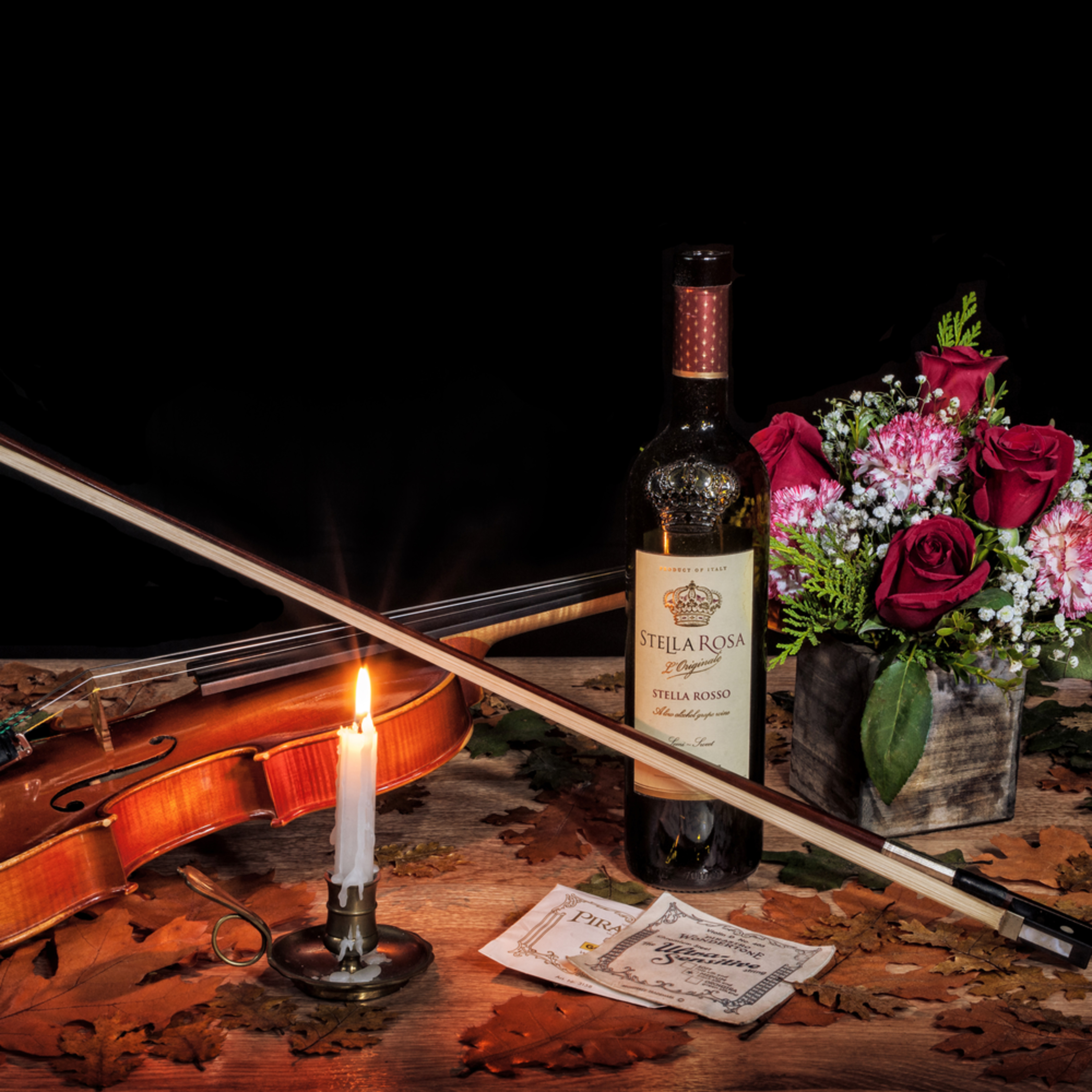 Wine roses and music 2 3 ratio drrrea