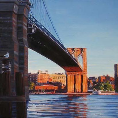 Brooklyn bridge at sunset 2 twoyev