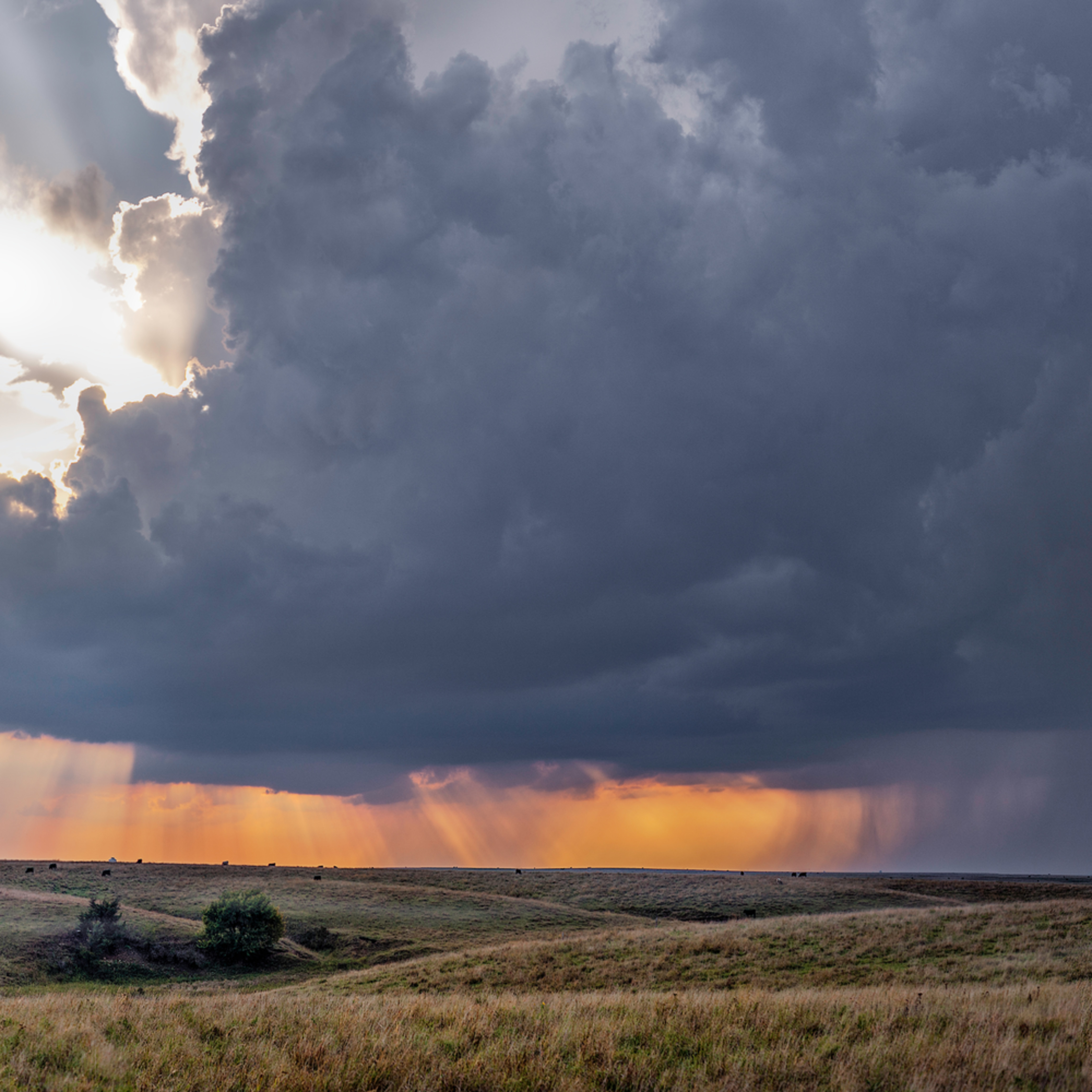 Storm over the kansas flint hills color 62 wide i2nsf5
