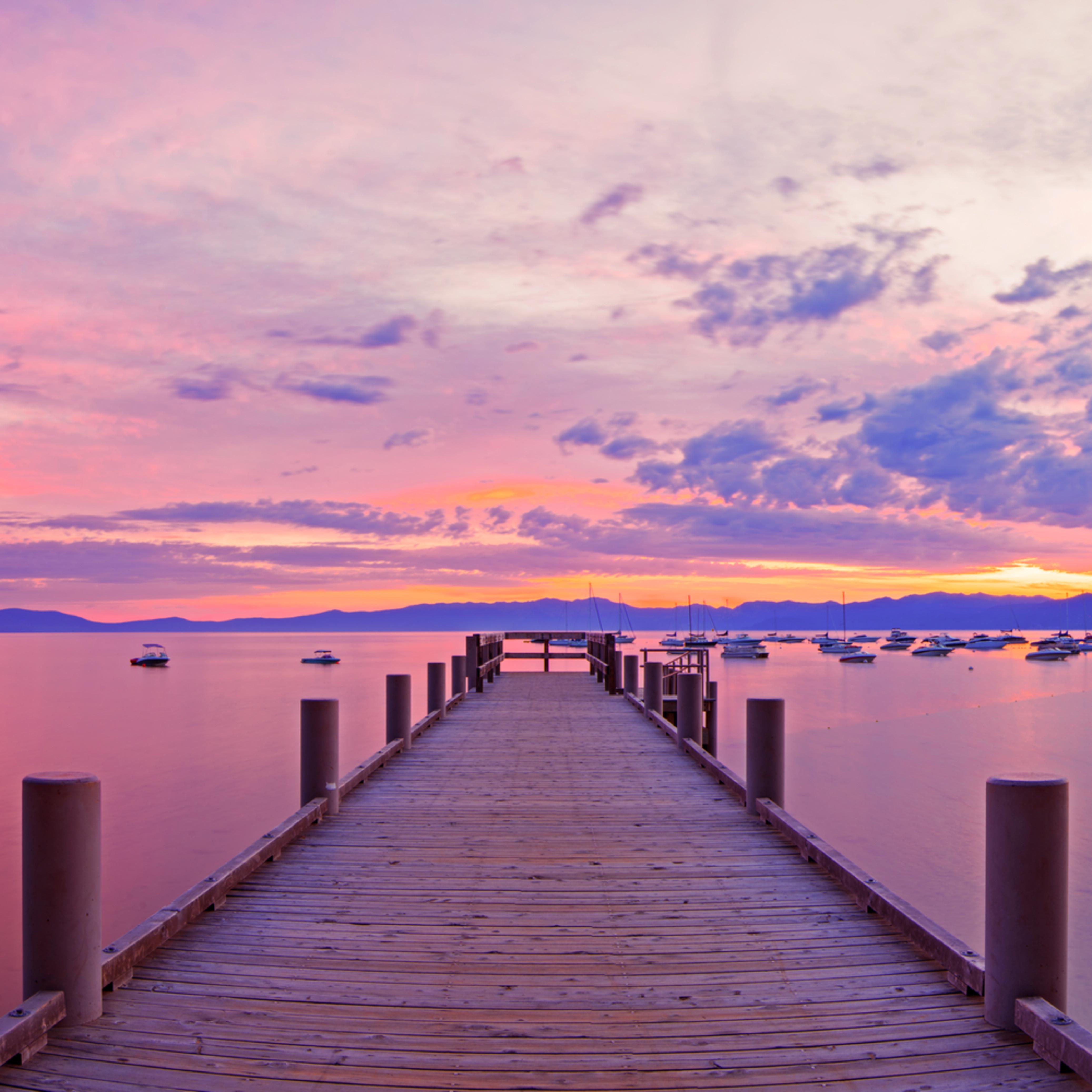 Valhalla pier sunrise warm uvrb1n