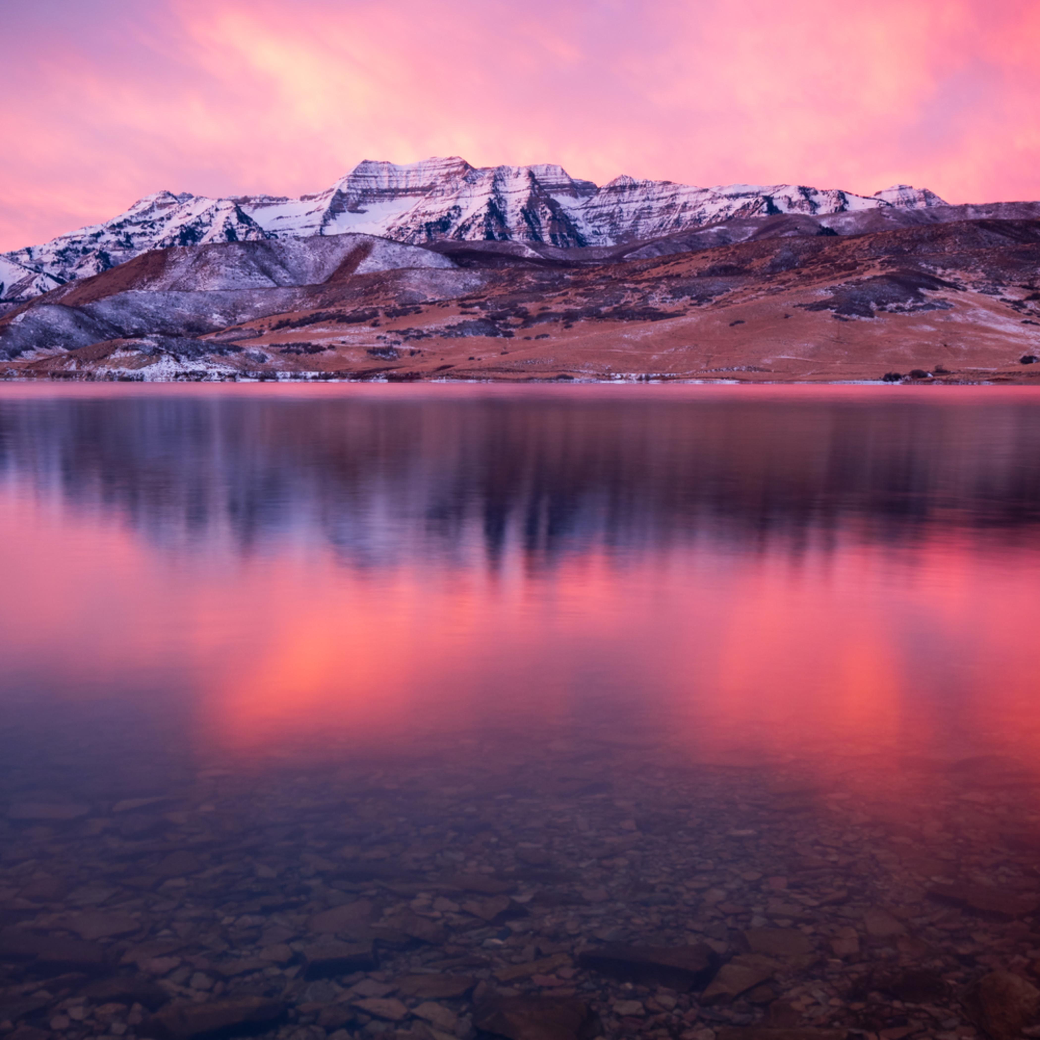 Vertical winter timp reflection fovlst