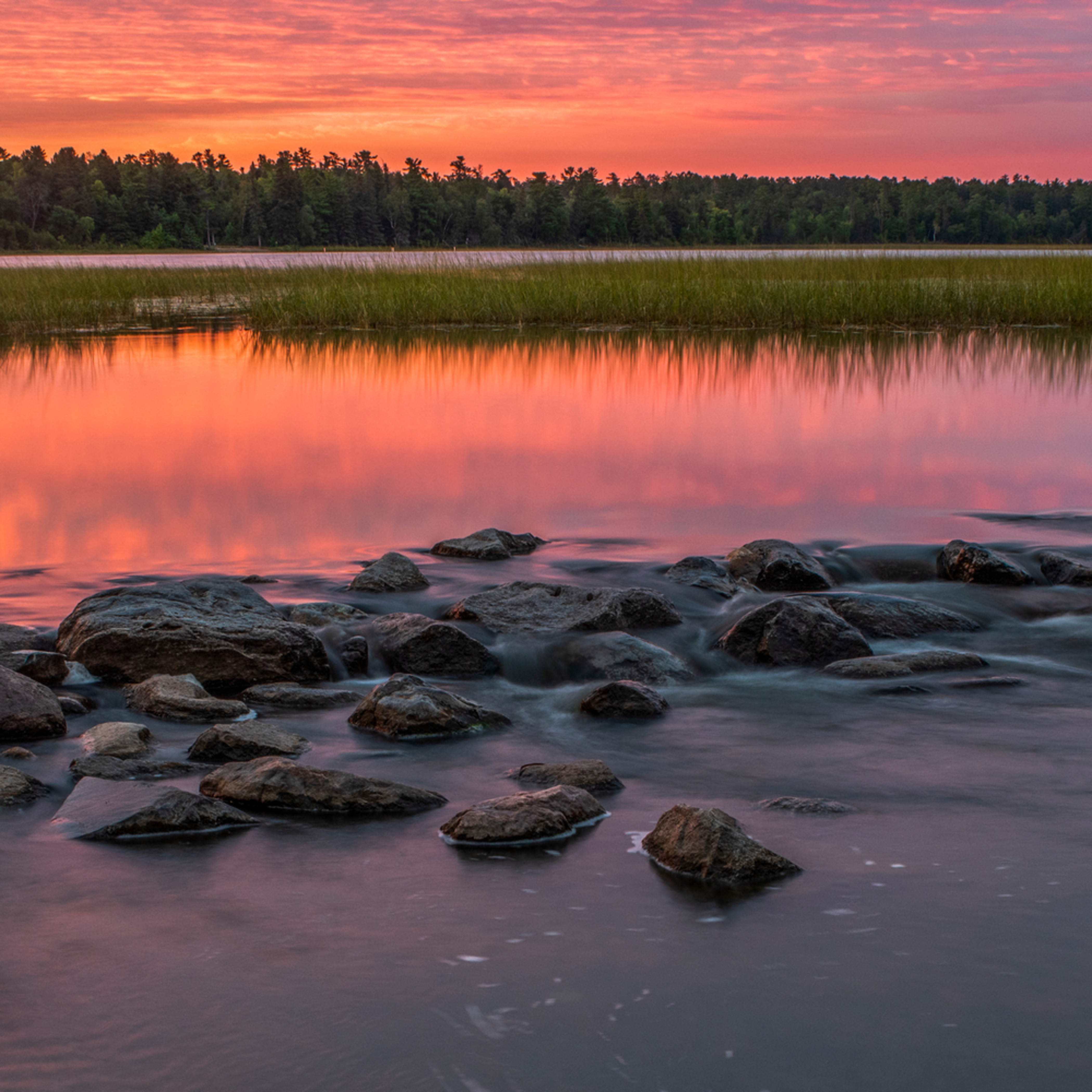 Dp660 sunrise mississippi river headwaters pano nidgtu