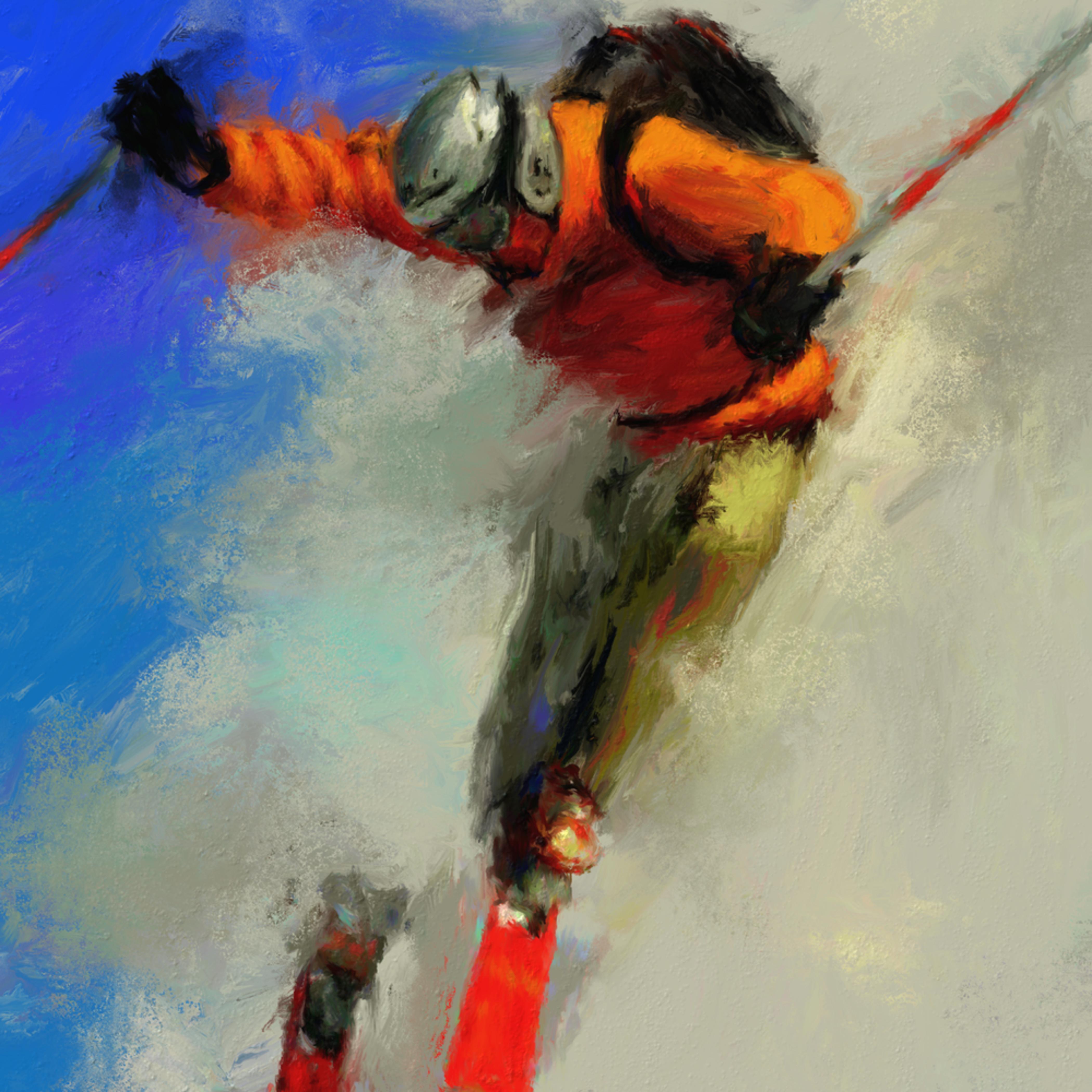 Extreme skiing rnflnh