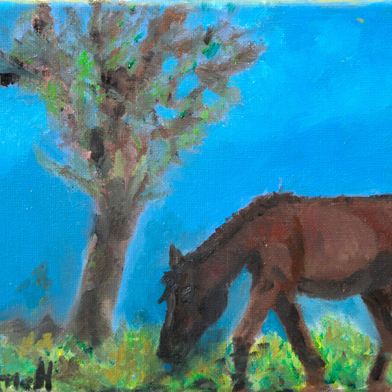 Horsegrazingminiature ex5kmj