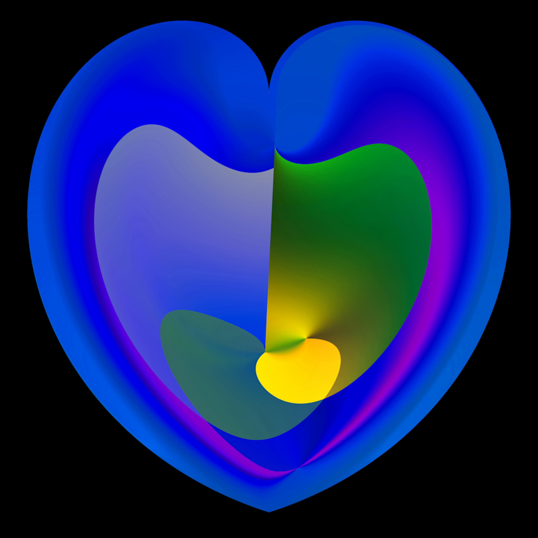Triangular color polar coord r1 heart kfjgnr
