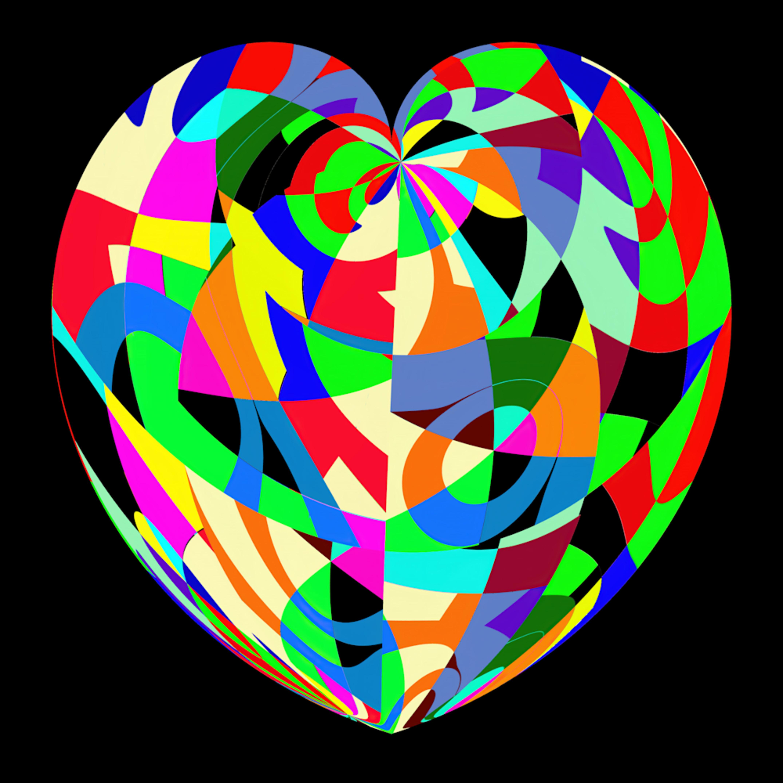 Puzzle heart ruqthv