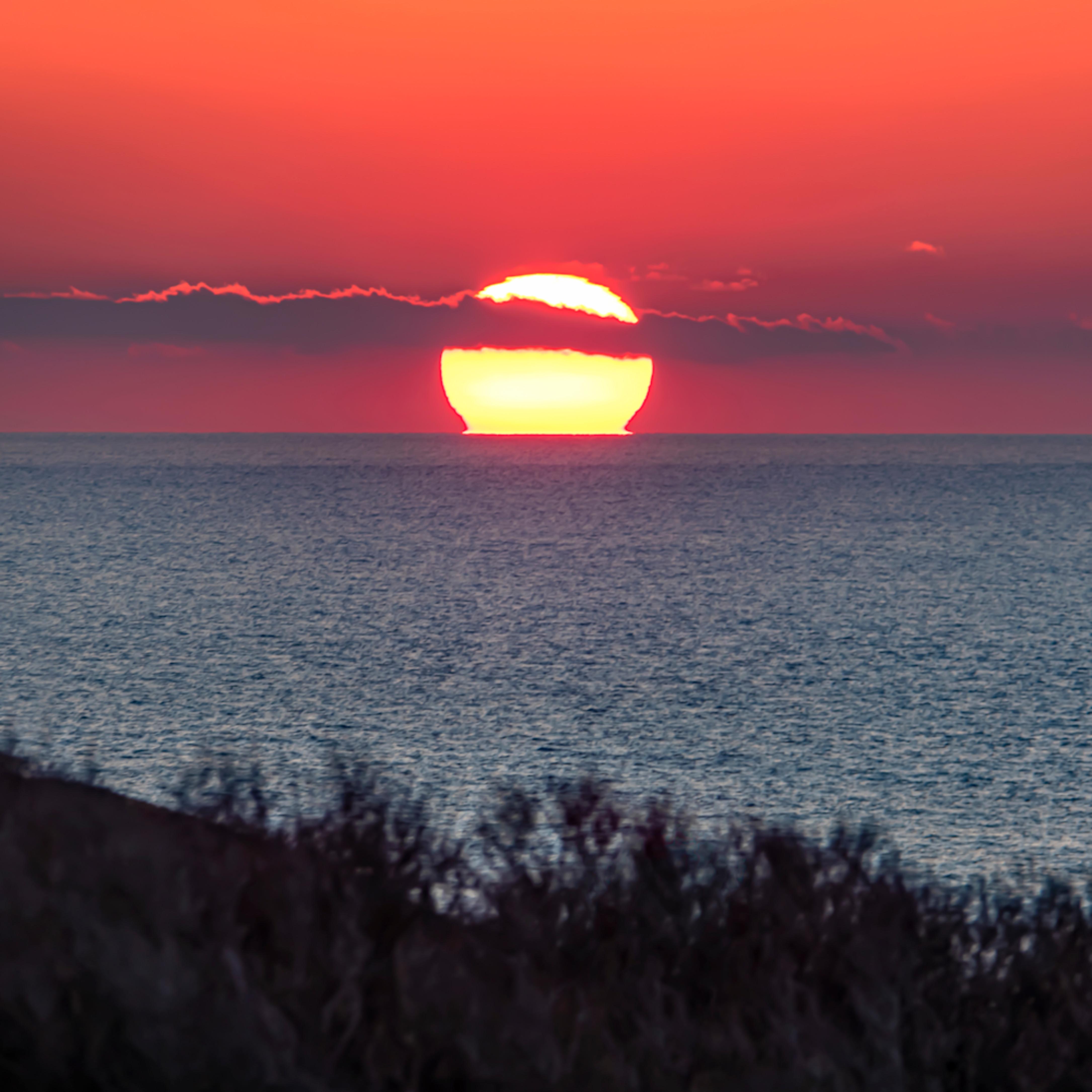 Gay head cliffs winter sunset 1 yp7aik