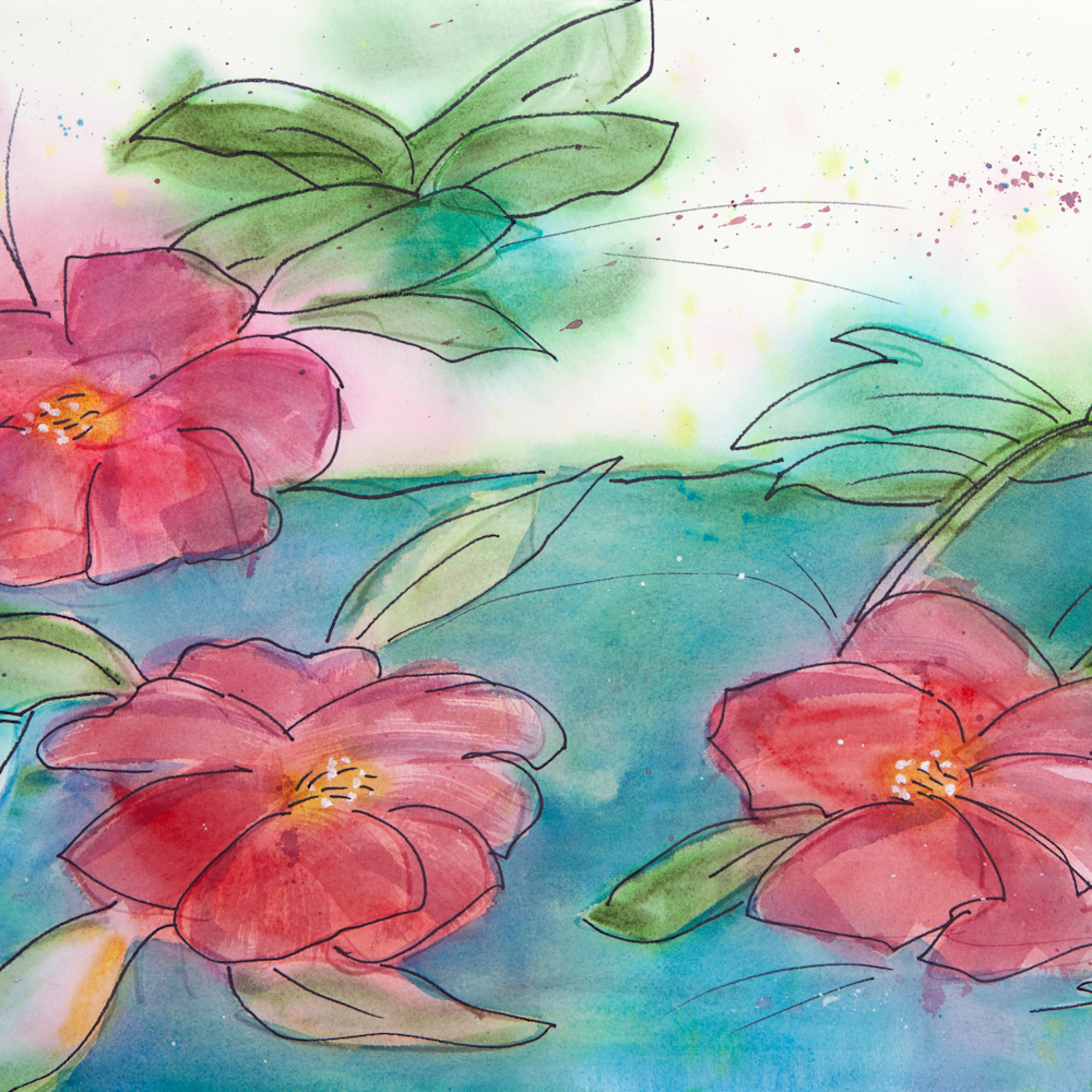 Three camellias wyknyf