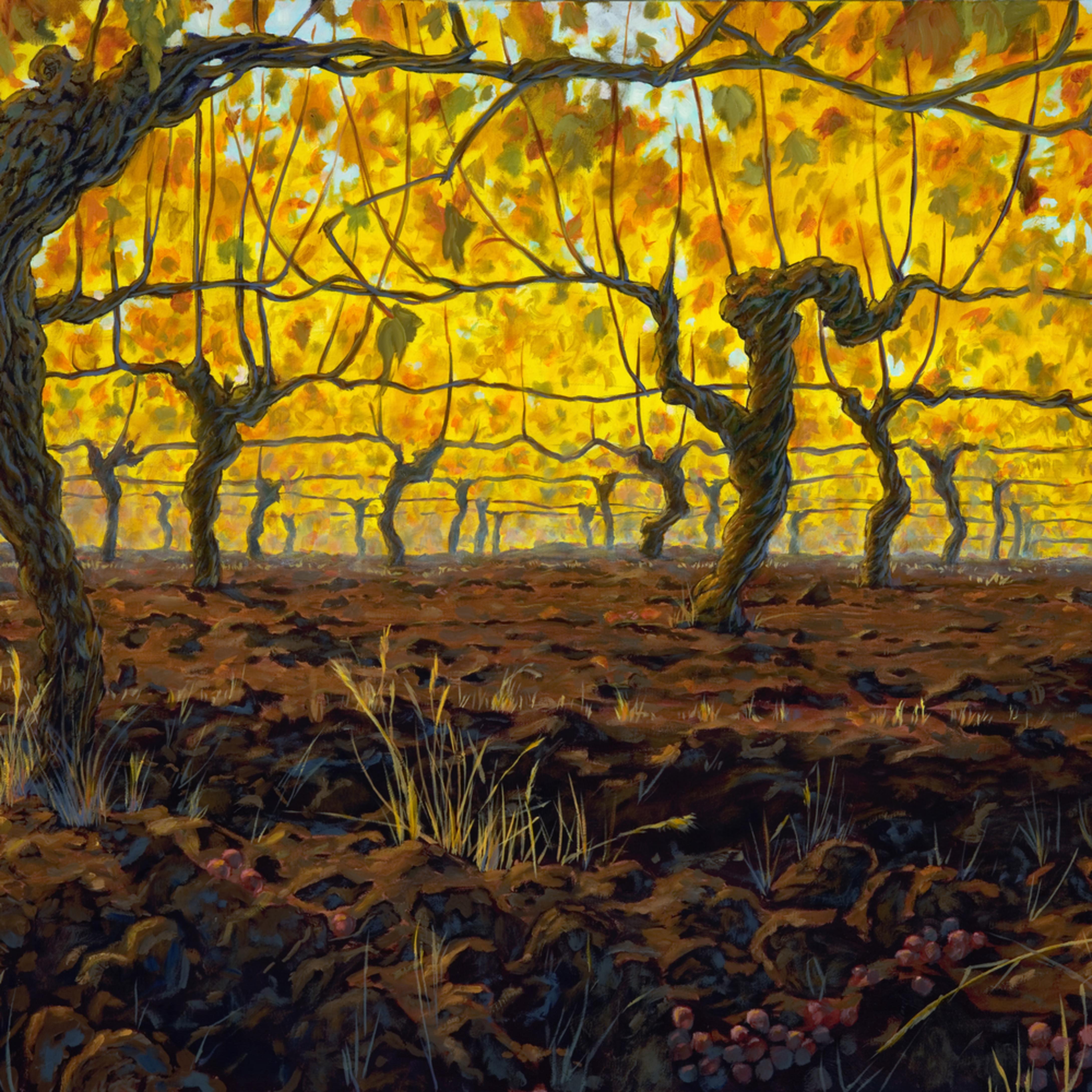 Giclee golden vines kb2oe2