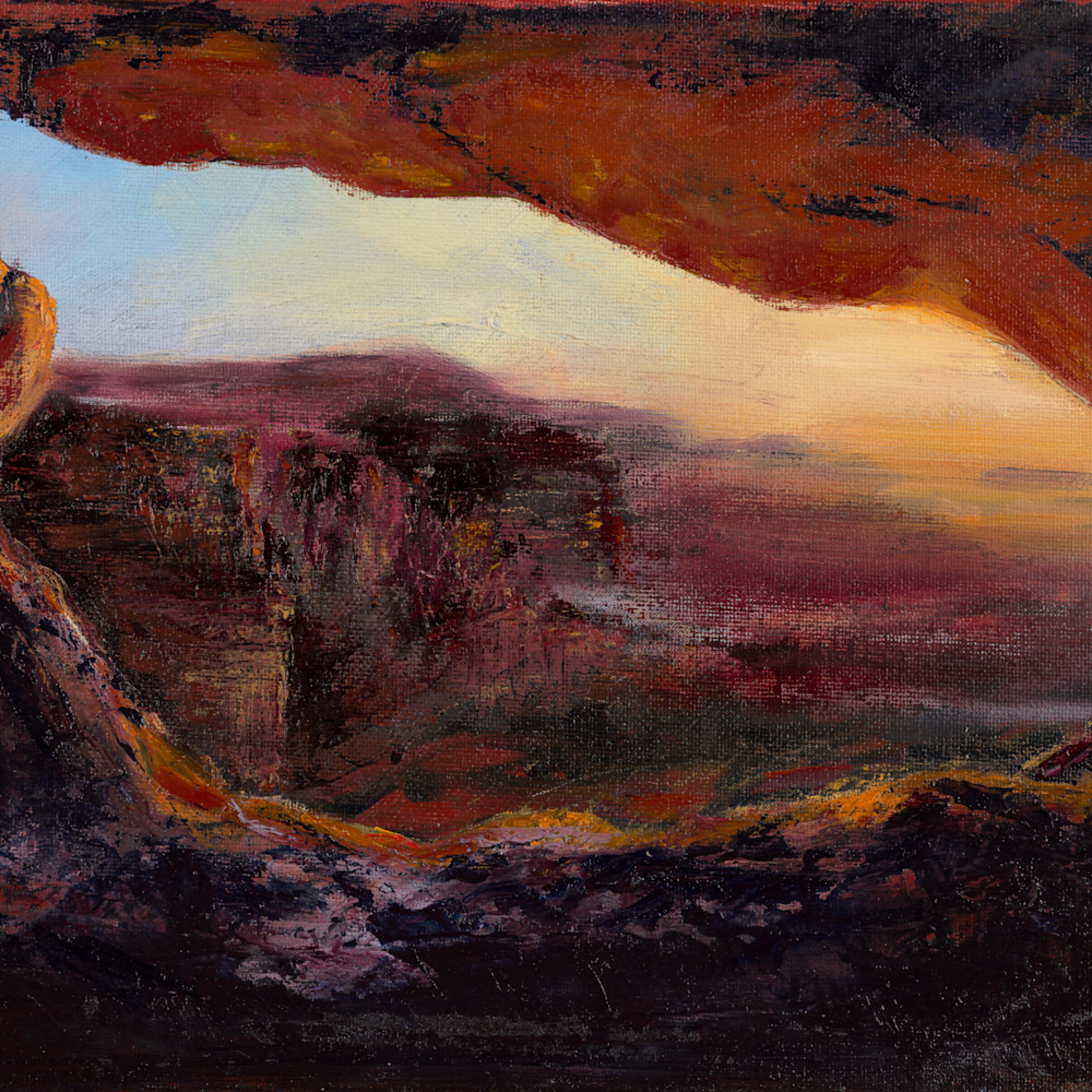 Sunset at arches park hires l1ctjl