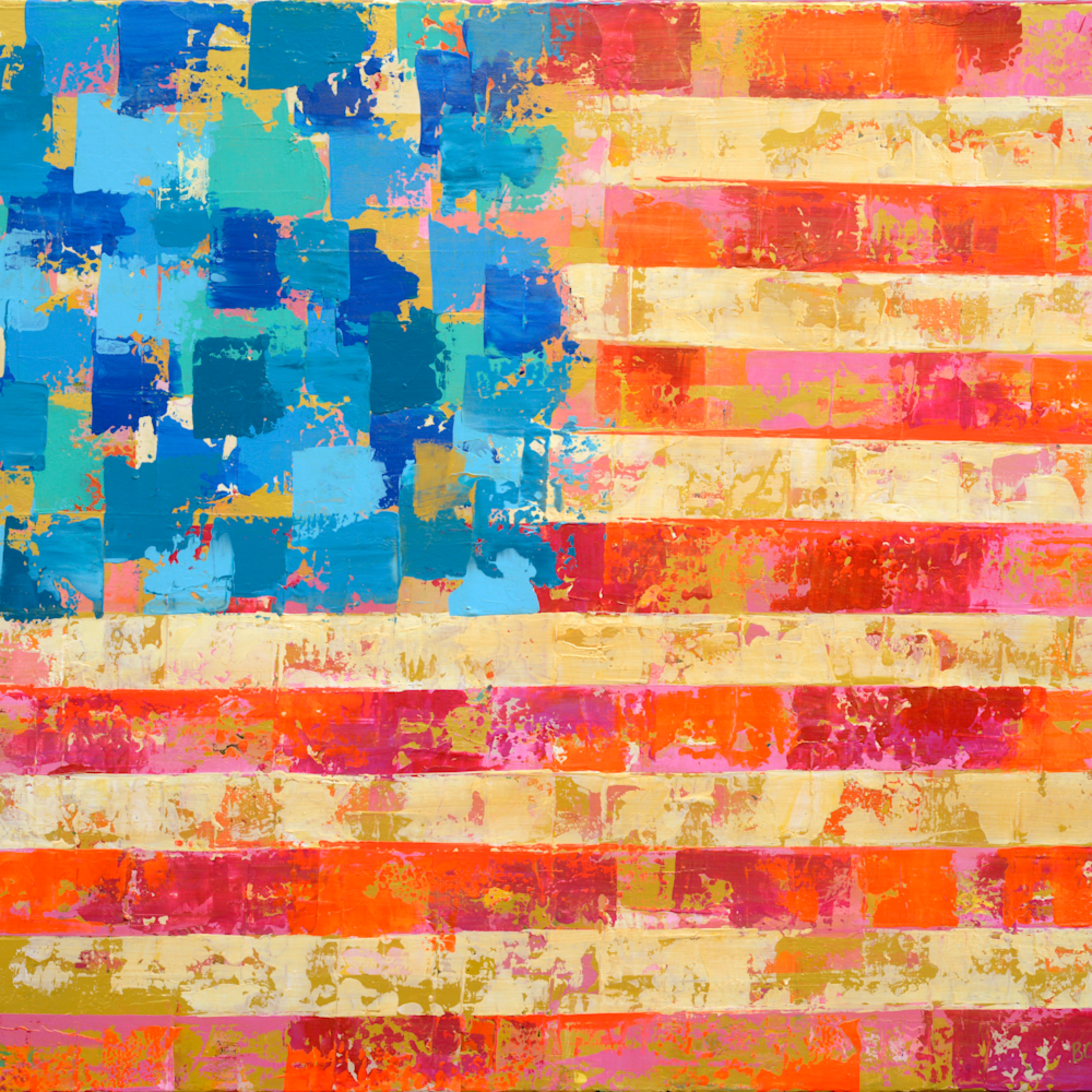 American flag bright hi res pma2uz