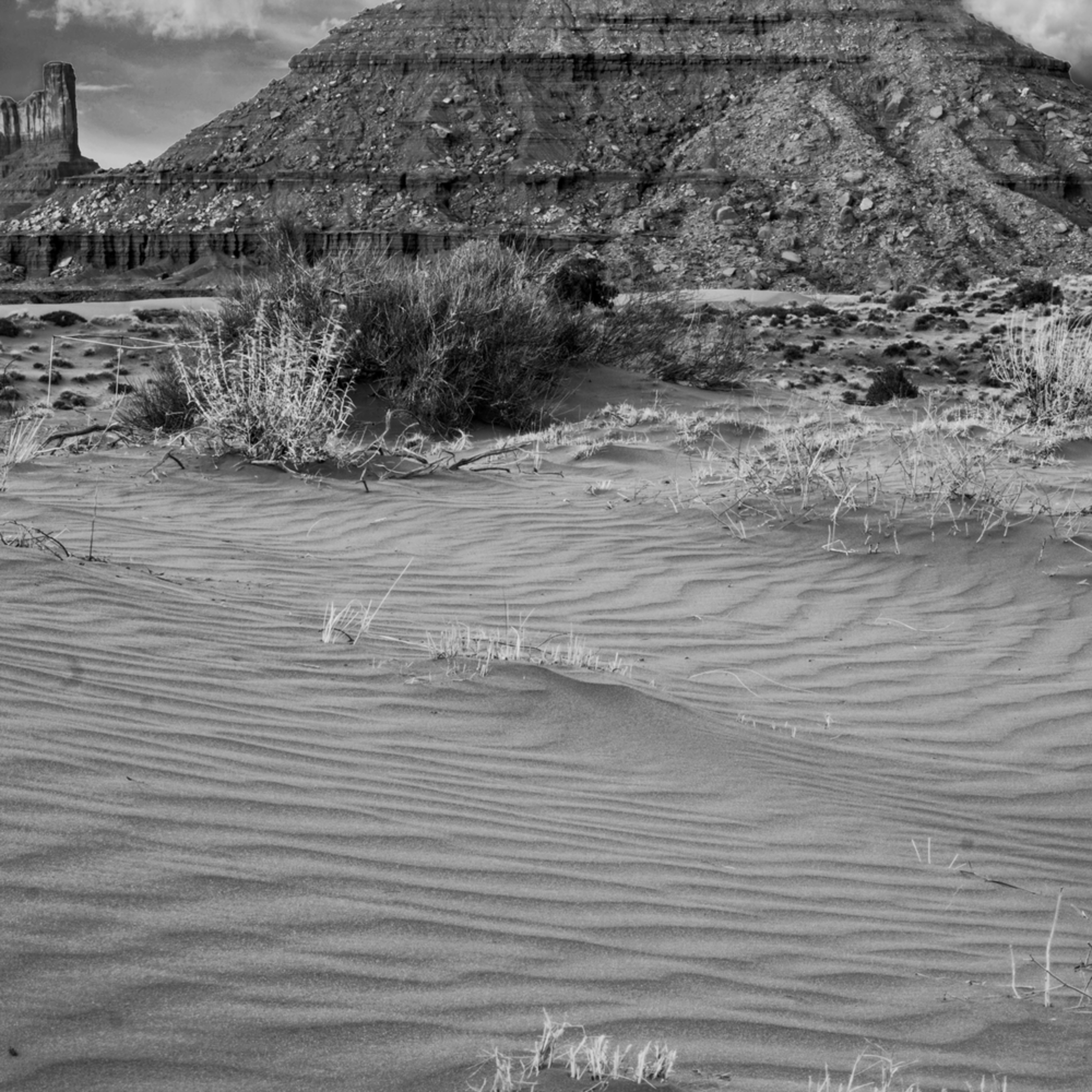 Black and white pano monument valley gb2dil