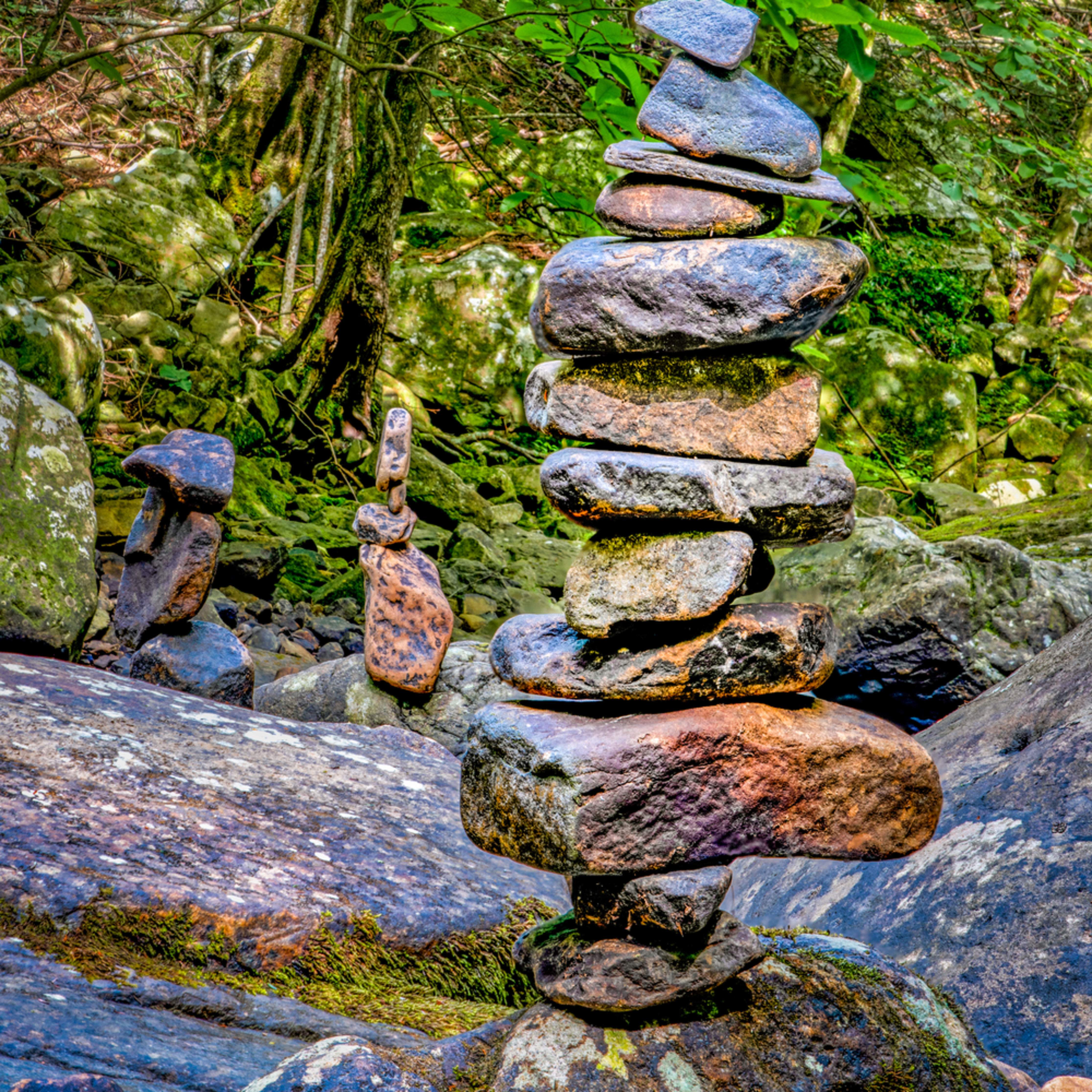 Andy crawford photography cloudland canyon state park totems benzr1
