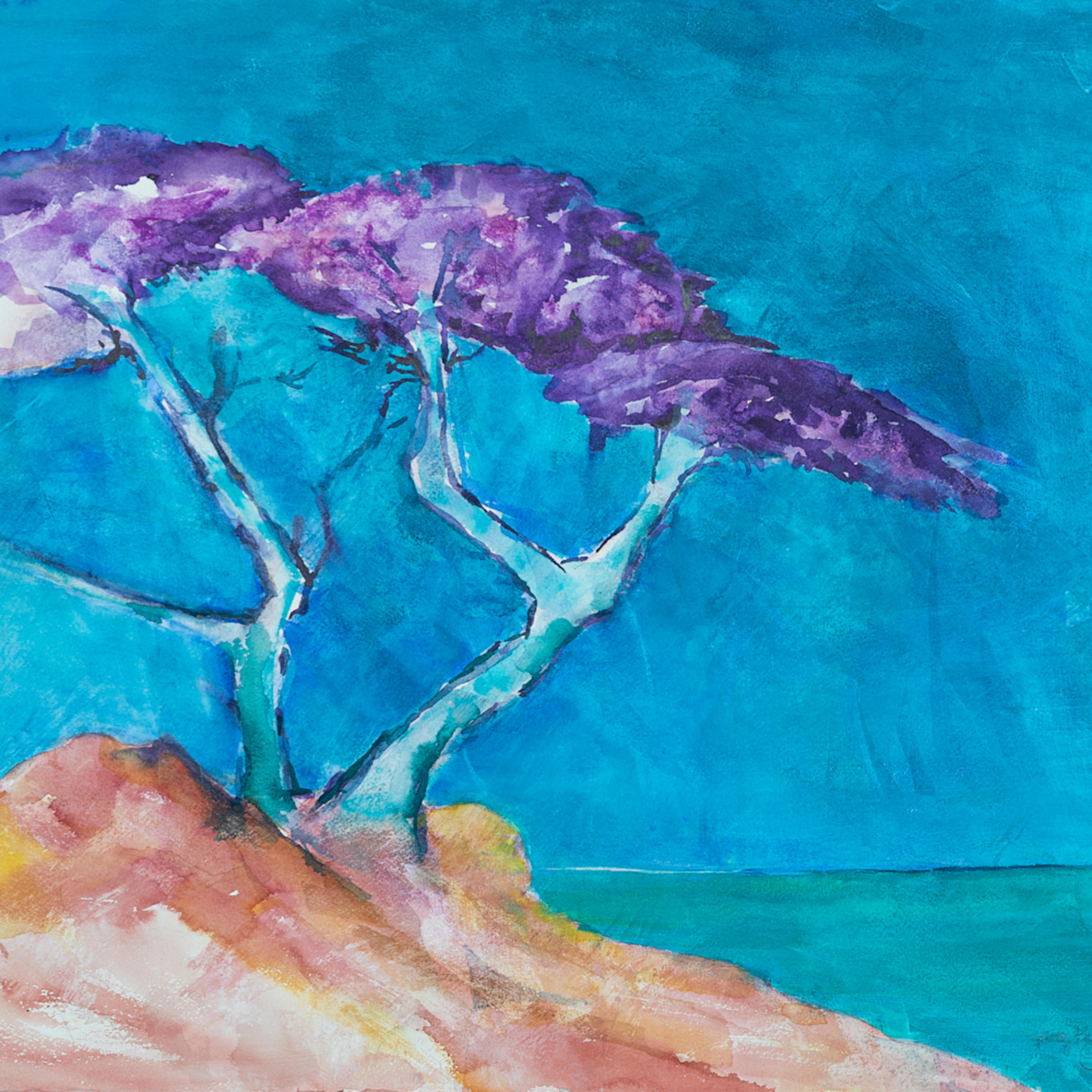 Purple tree of strength fhj77k