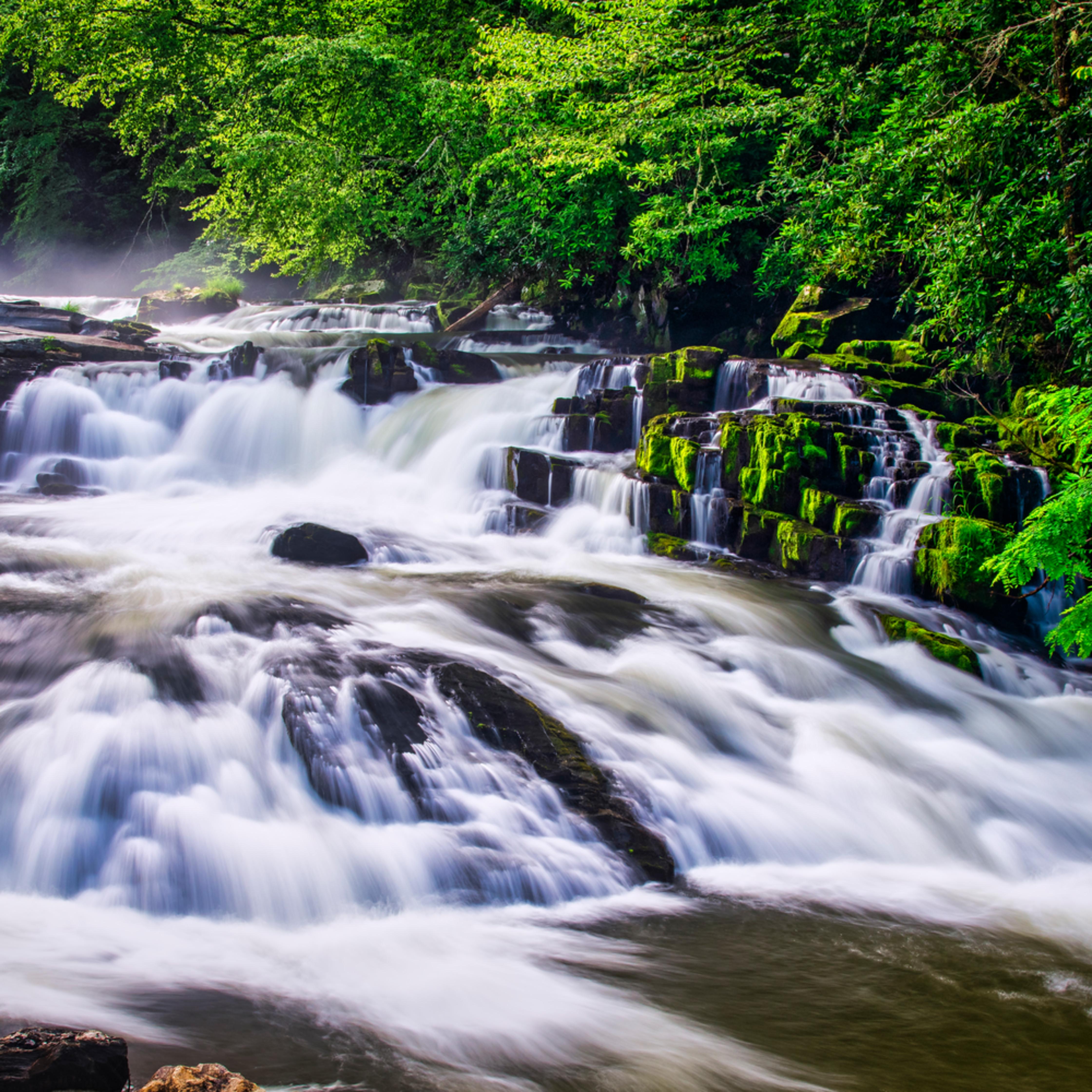 Andy crawford photography nantahalal river waterfall koacc6