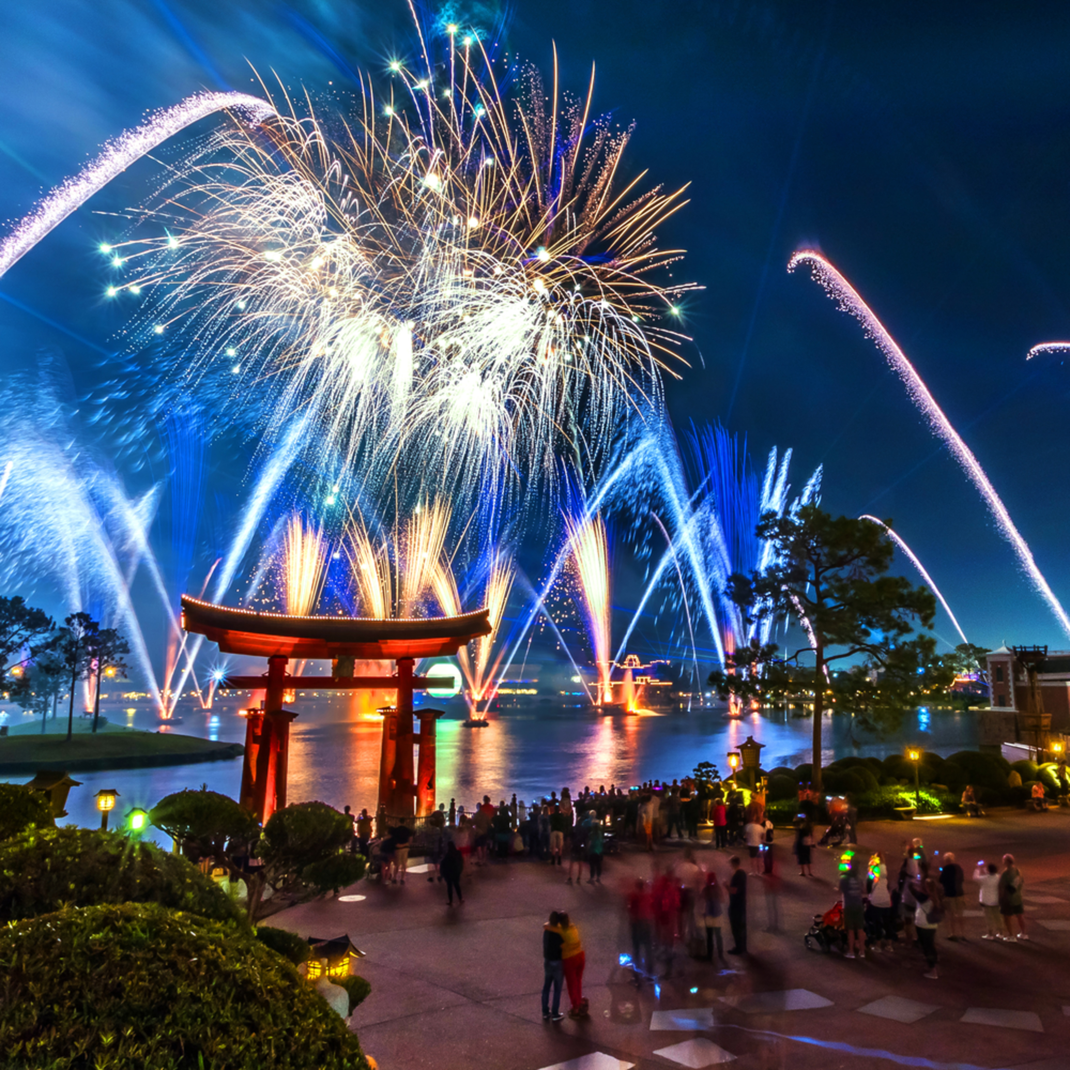 Epcot fireworks spectacular 5 dq4tlp