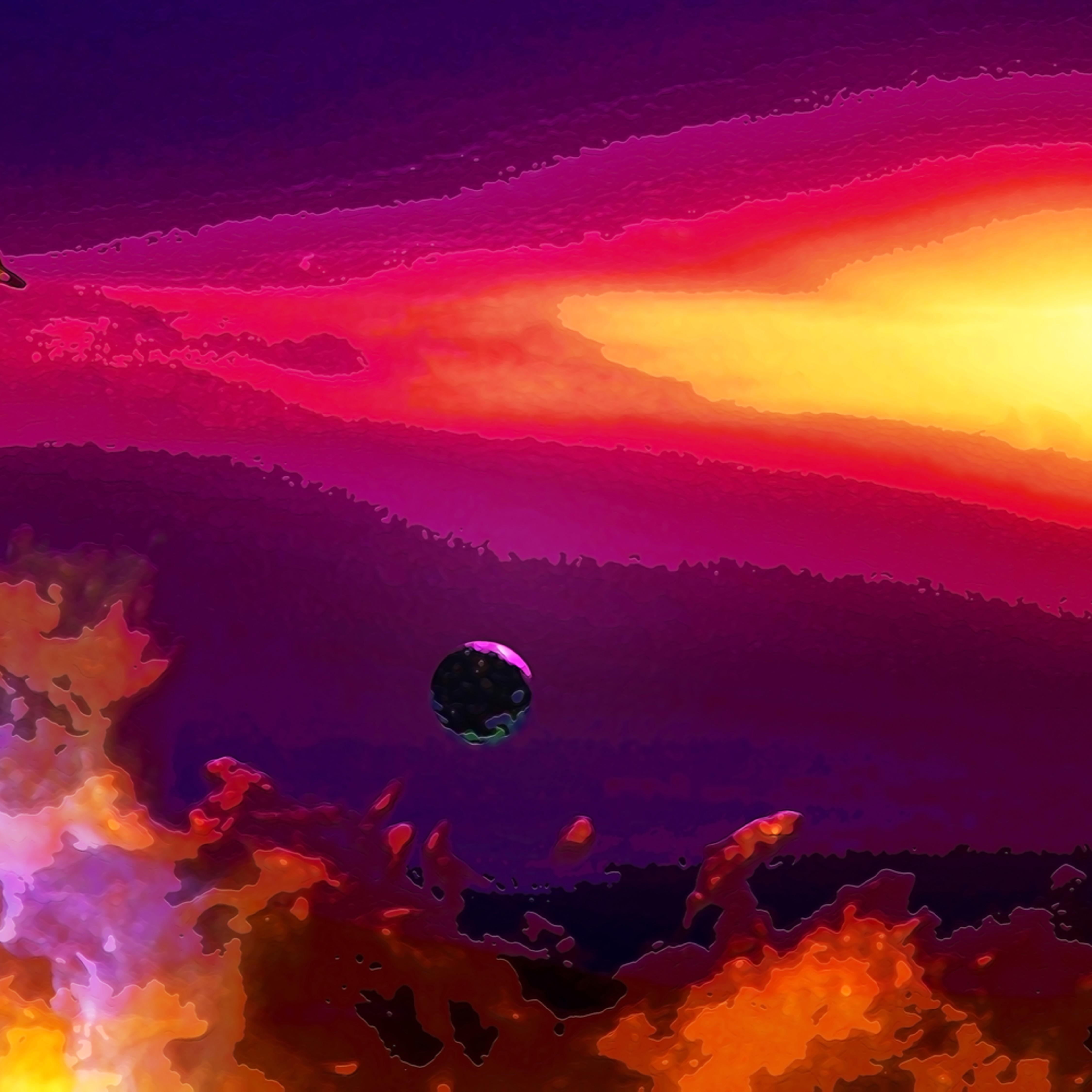 Exoplanet moonrise h103z3