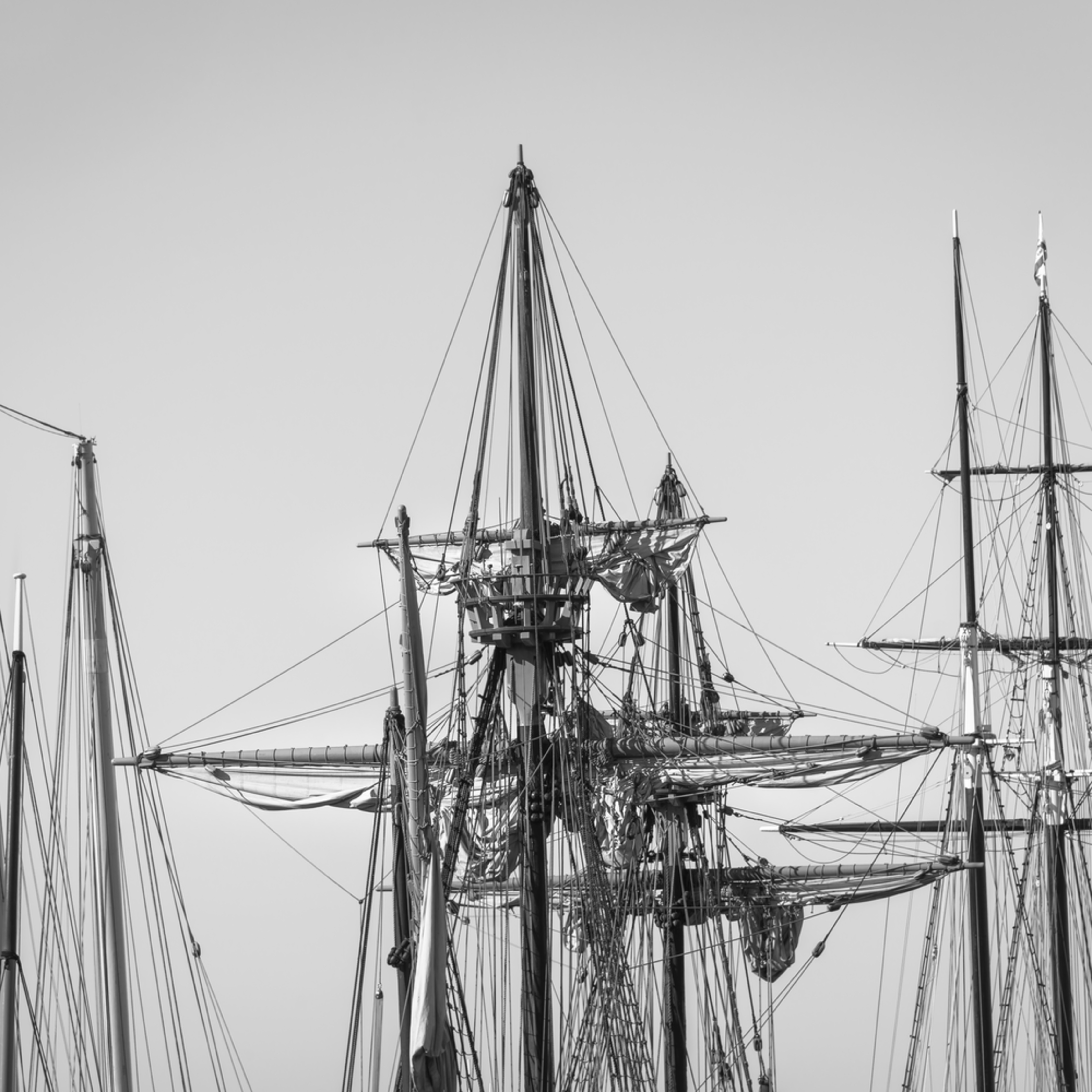 Schooner galleon and topsail schooner rigs wwjshf