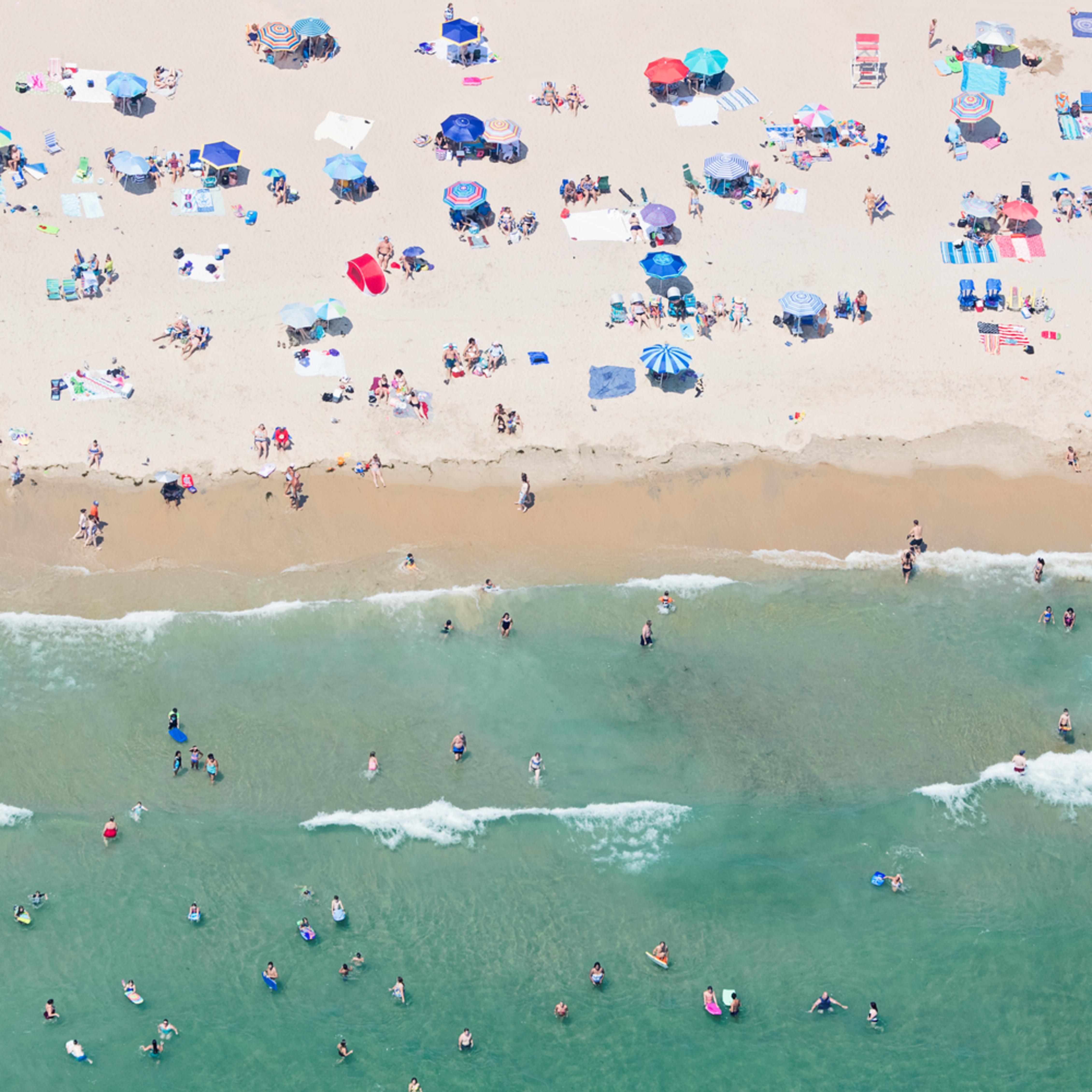 Aerial weekapaug beach gaqrbo