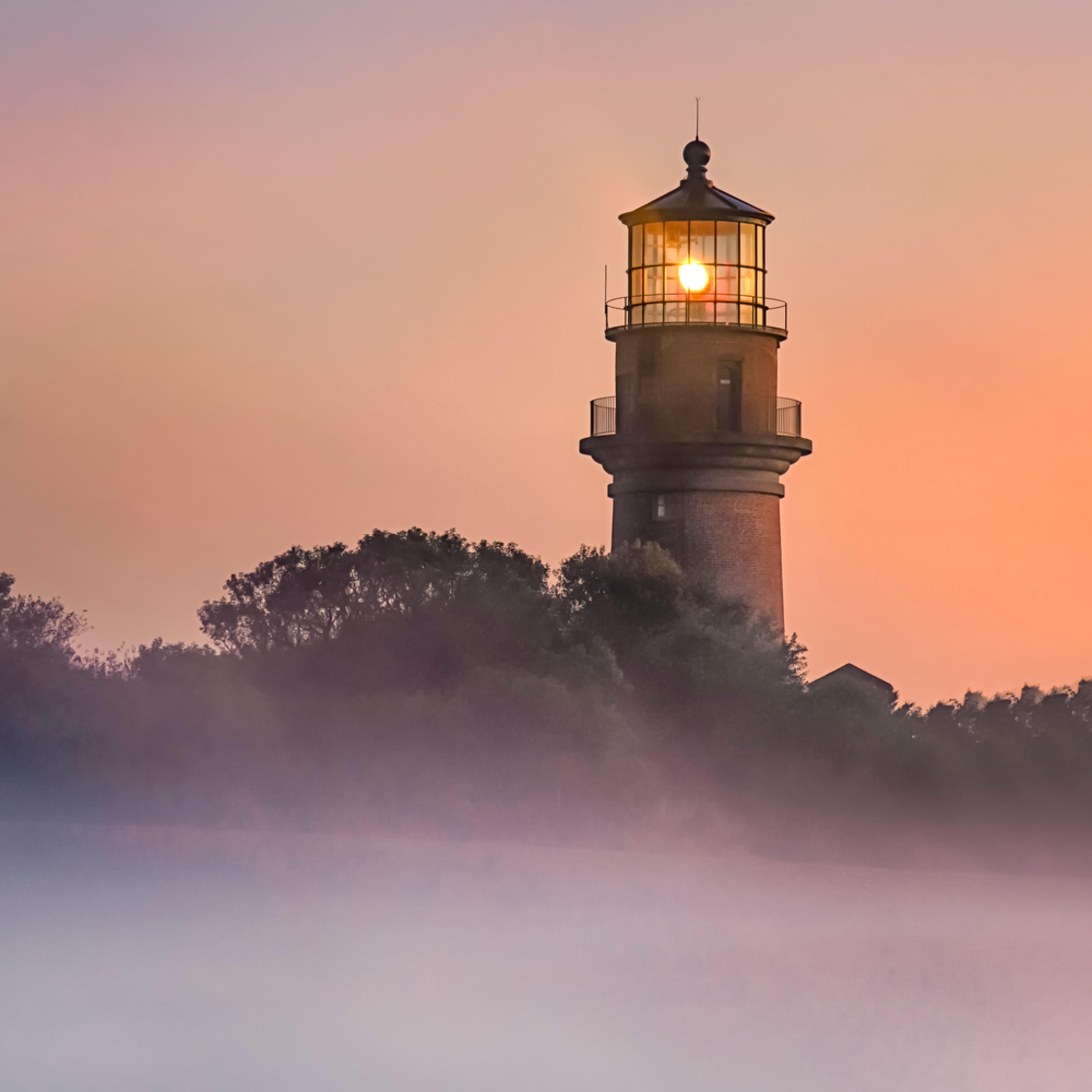 Gay head light fog sunrise iuw1fp