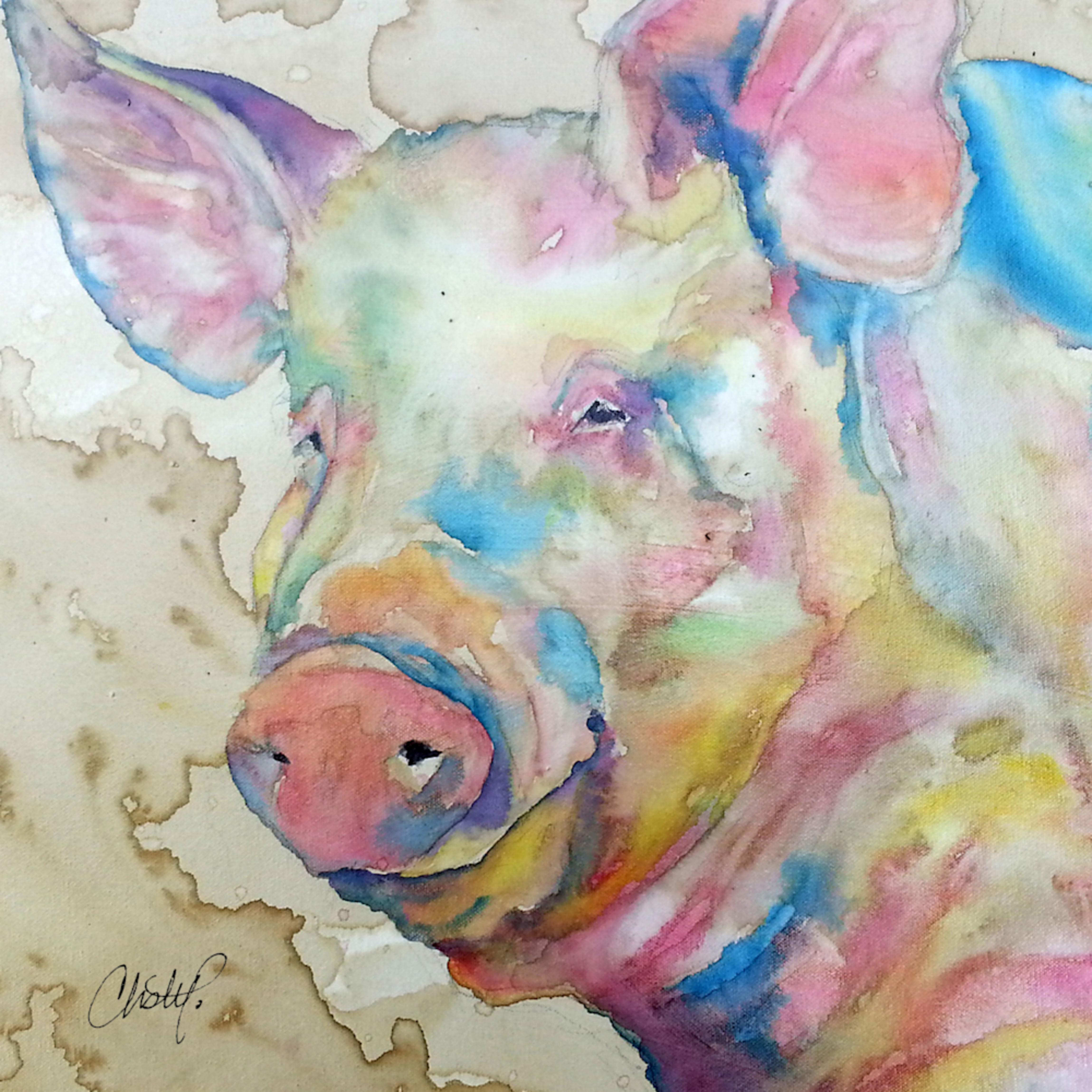 Piggie signed om7ney