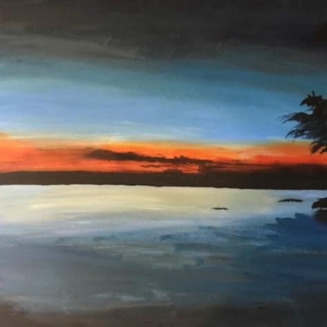 Cayuga sunset act8wg