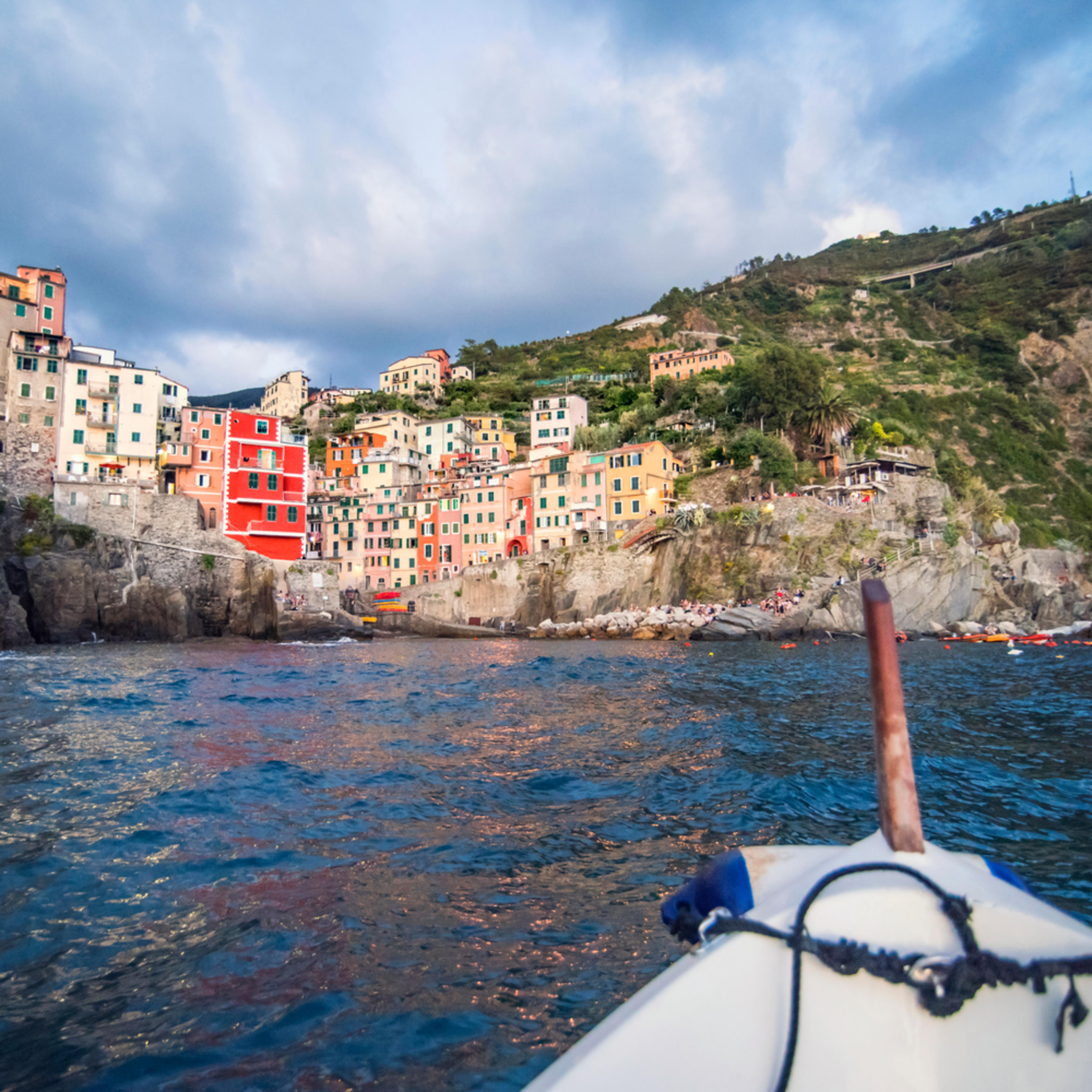 Riomaggiore from boat cprdtz