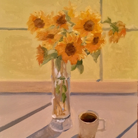 Morning sunflowers sold gs0t3i